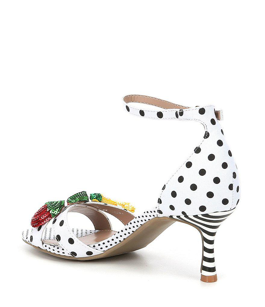 Jordan Polka Dot Fruit Ornament Sandals I0FXy8h