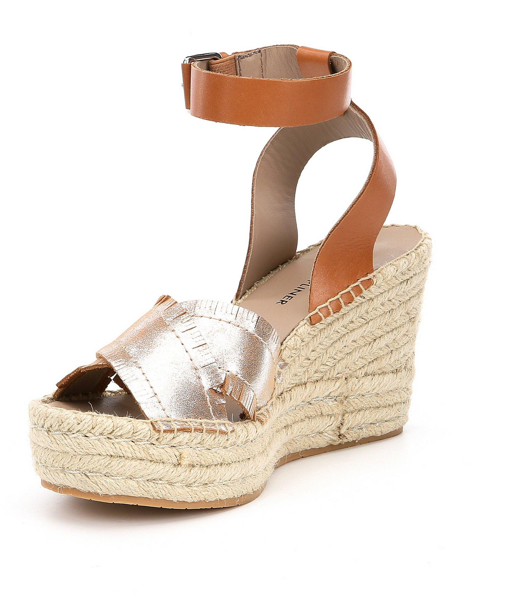 fe69cfa1d5 Donald J Pliner - Metallic Ines Espadrille Wedge Sandals - Lyst. View  fullscreen