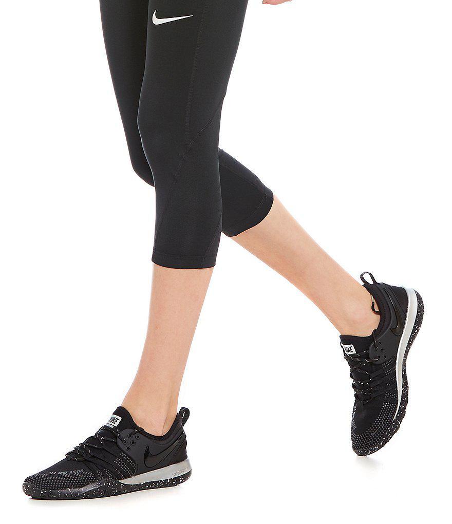 1b236e79435f Lyst - Nike Women s Free Tr 7 Selfie Shoes in Black