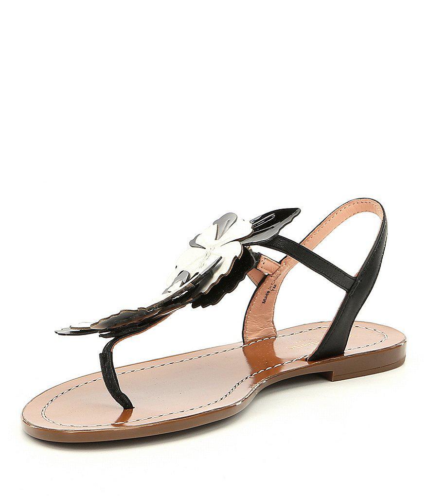 kate spade new york Celo Flower Embellishment Sandals iF6bQC