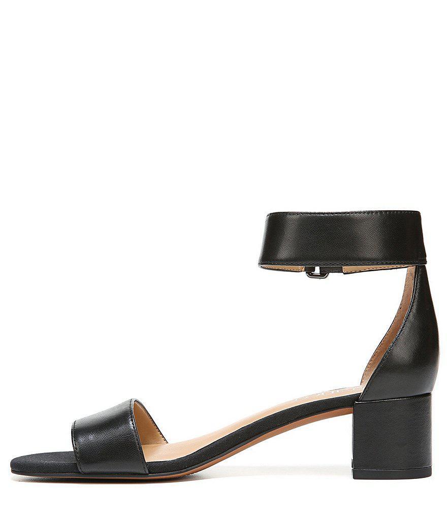 Rosalina Ankle Strap Block Heel Sandals 8DswzE0Ufc