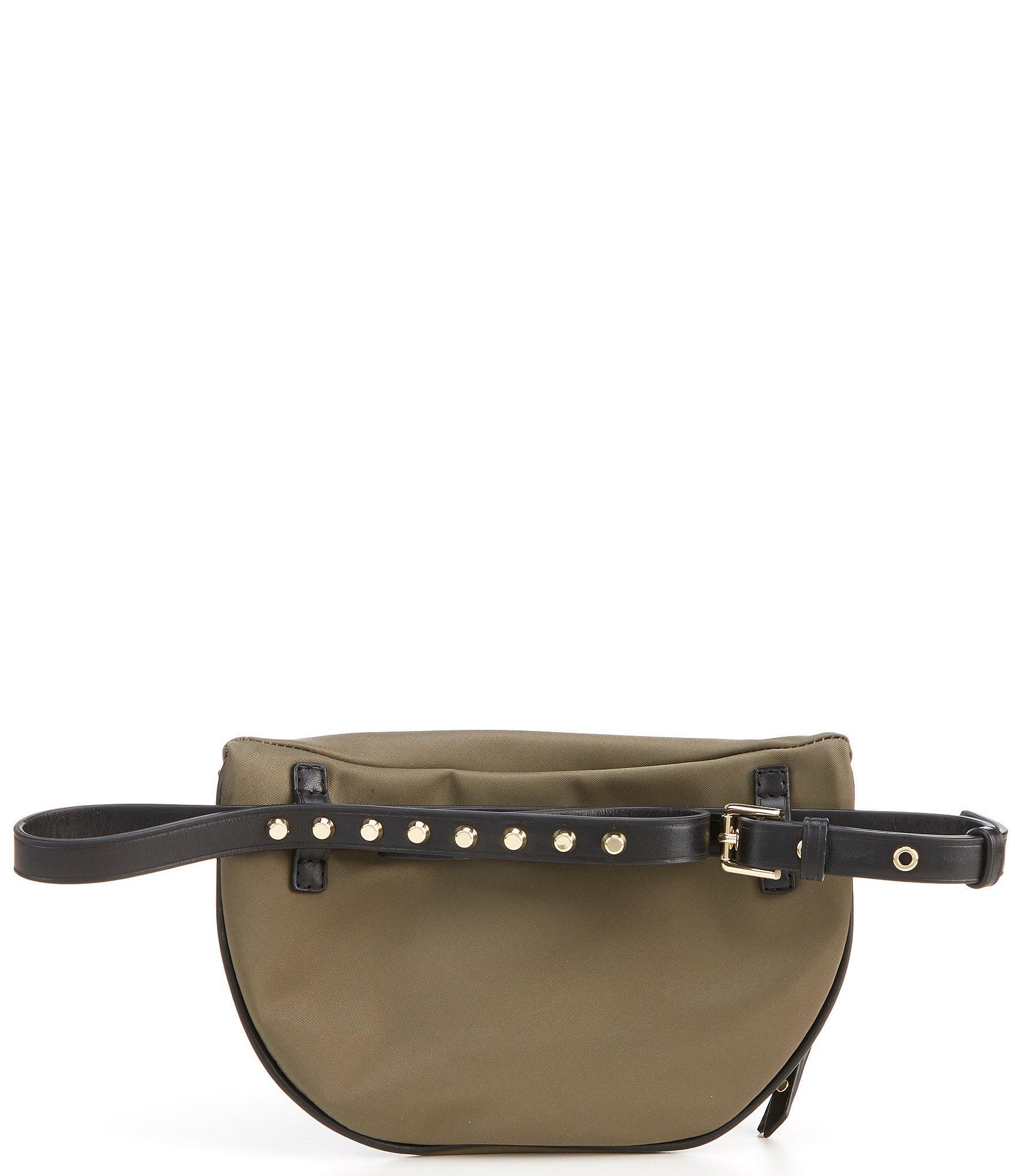 47256af88e70 MICHAEL Michael Kors - Green Leila Small Nylon Belt Bag - Lyst. View  fullscreen