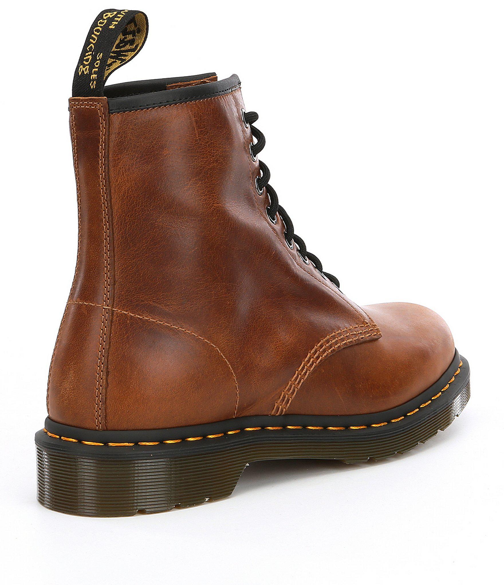 d56607331 Dr. Martens Men's 1460 Boots in Brown for Men - Lyst