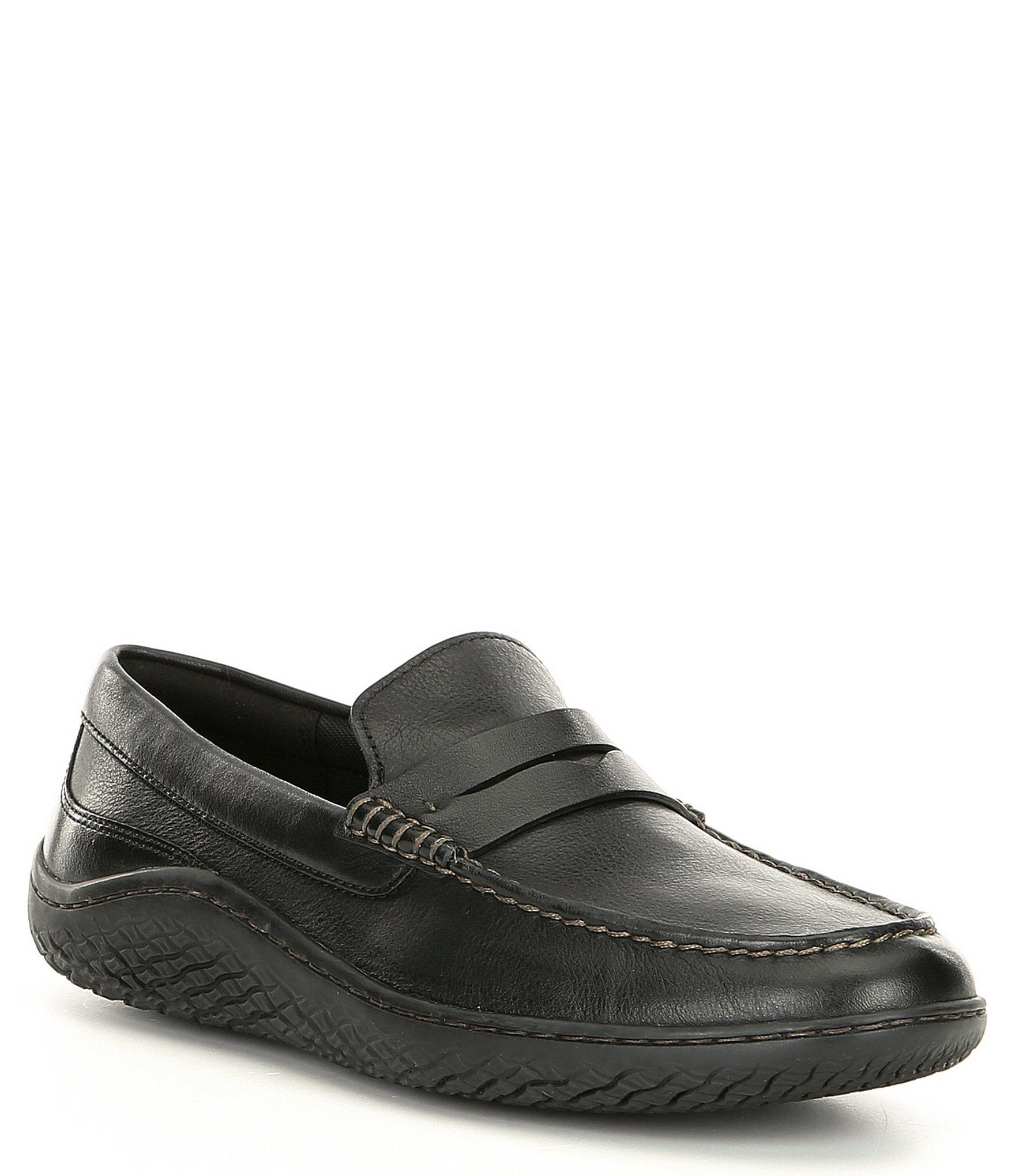 fbac7c41fd3 Lyst - Cole Haan Men s Motogrand Traveler Leather Penny Loafer in ...