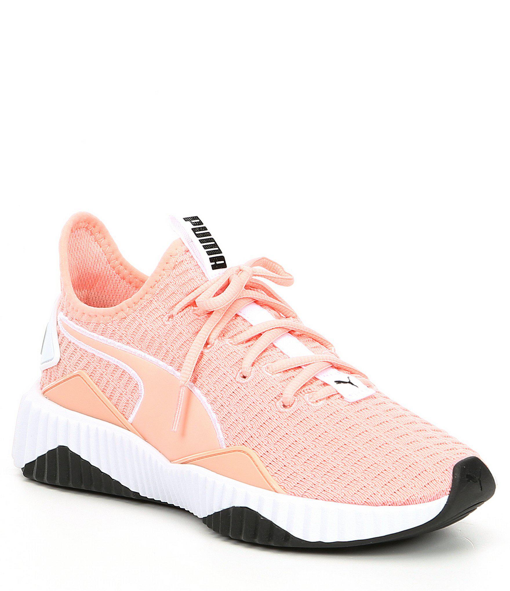 eb208401d5e913 Lyst - PUMA Women s Defy Sneakers in Pink