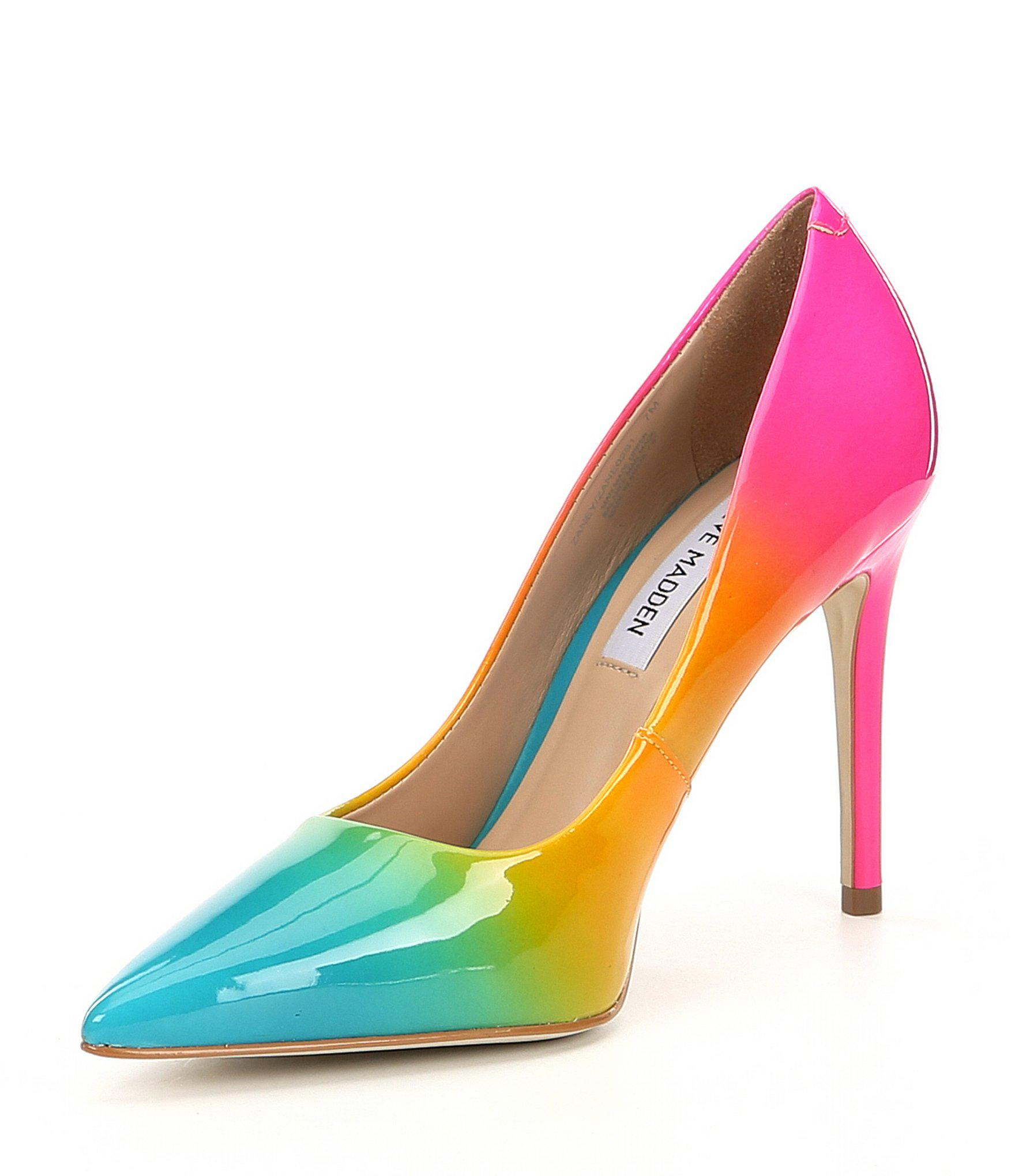 2f8d9c4abdf Lyst - Steve Madden Zaney Rainbow Dress Pumps