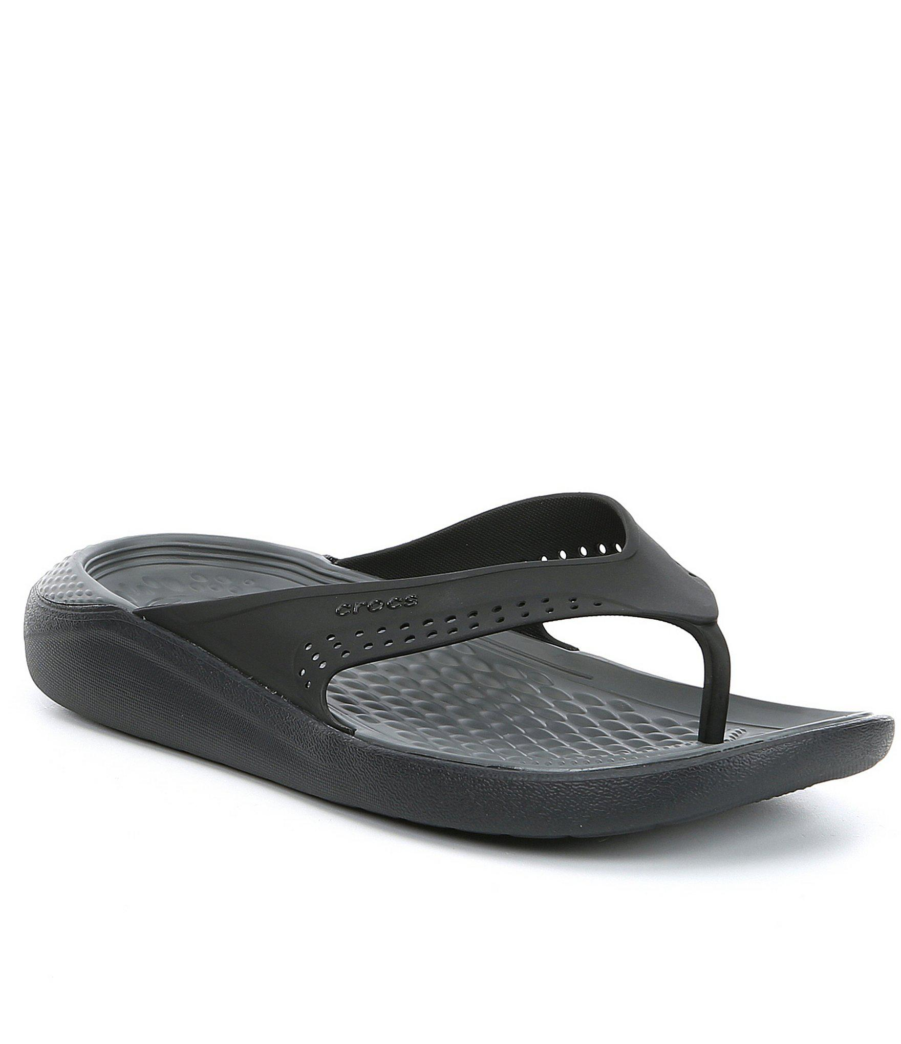 ffa57253bc29ca Lyst - Crocs™ Men s Literide (tm) Flip Flop in Gray for Men