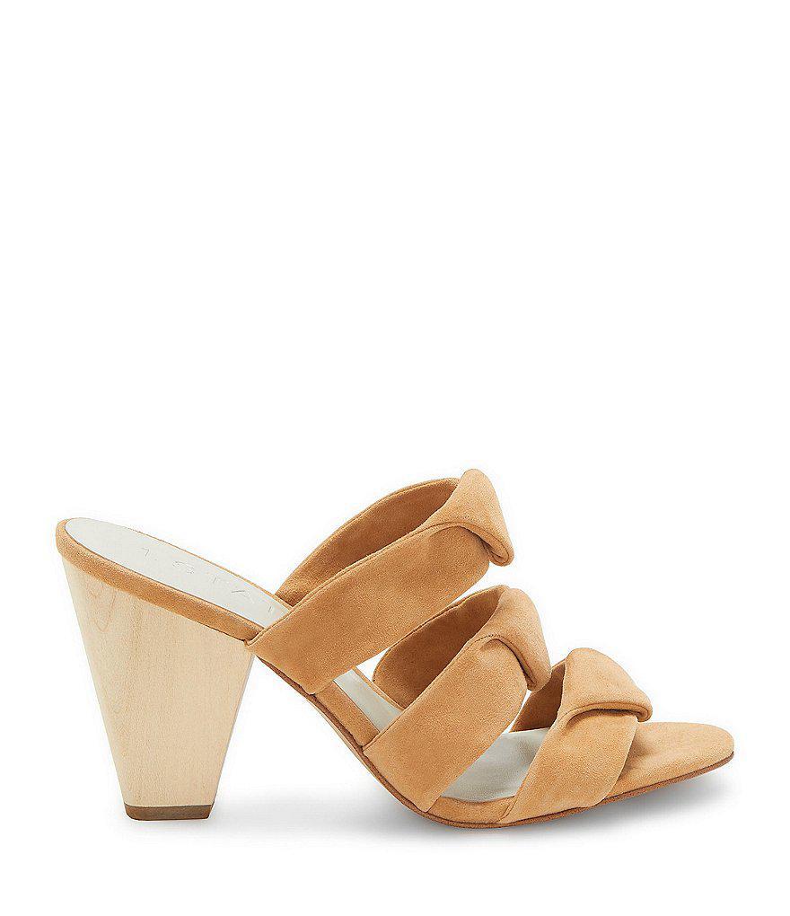 Aisha Suede Block Heel Sandals iv0gdVTF
