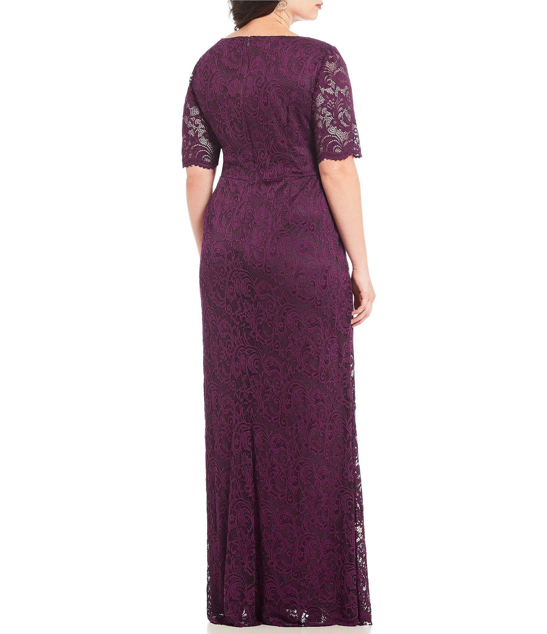 d5c69037cbd Gallery. Previously sold at  Dillard s · Women s Adrianna Papell Lace Dress  ...