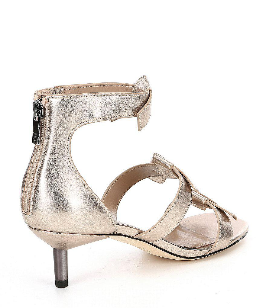 Cady Knotted Bow Kitten Heel Sandals cOlcqlzyC