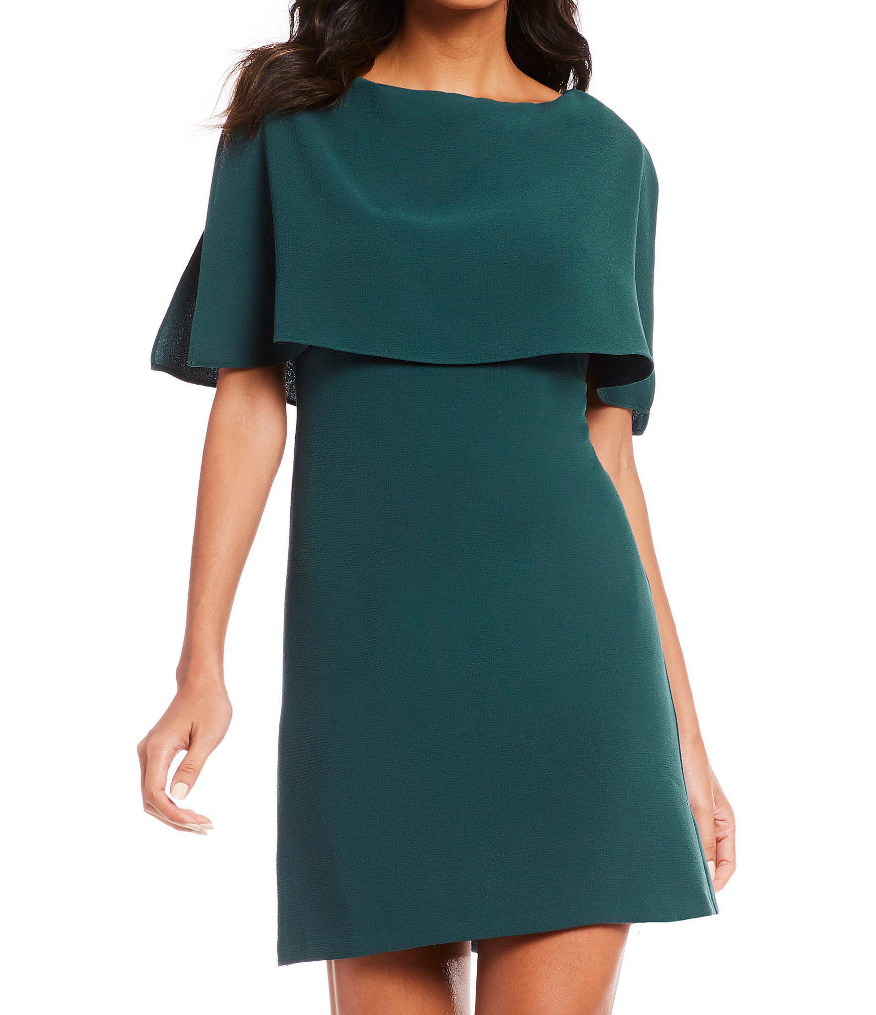 dc26c0cdc3e9 Adrianna Papell - Blue Split Sleeve Popover Dress - Lyst. View fullscreen