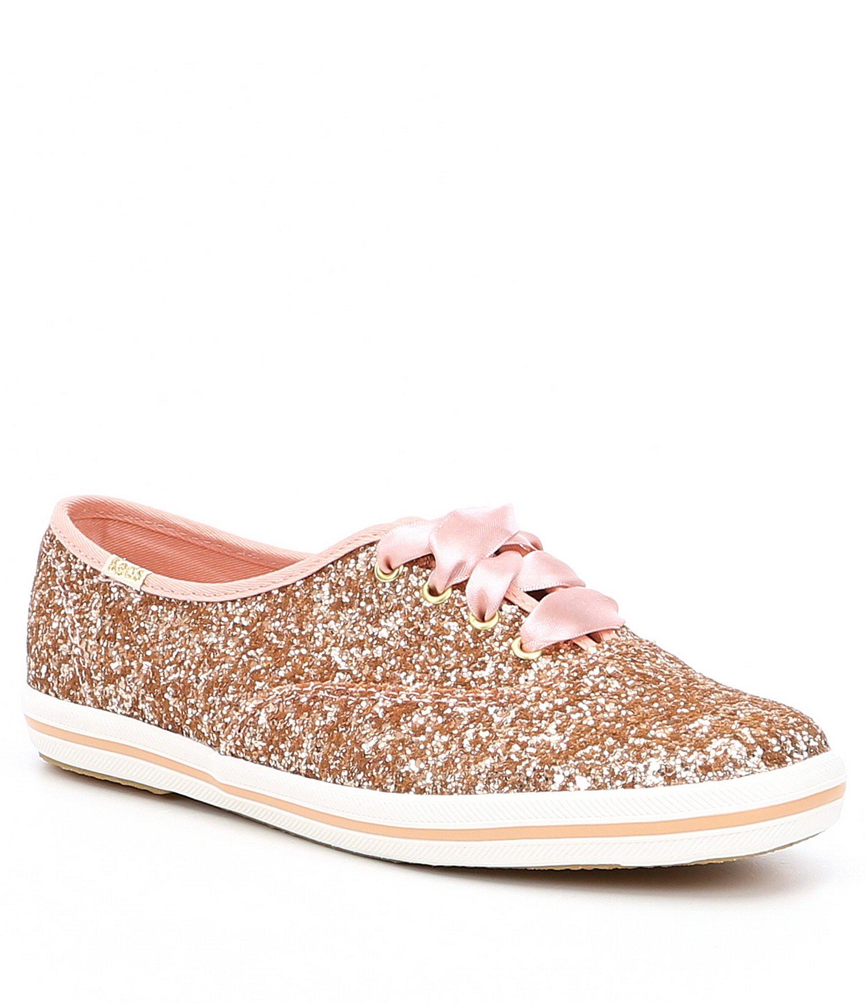 c967126023e6 Lyst - Kate Spade Keds X Glitter Keds Sneakers in Metallic