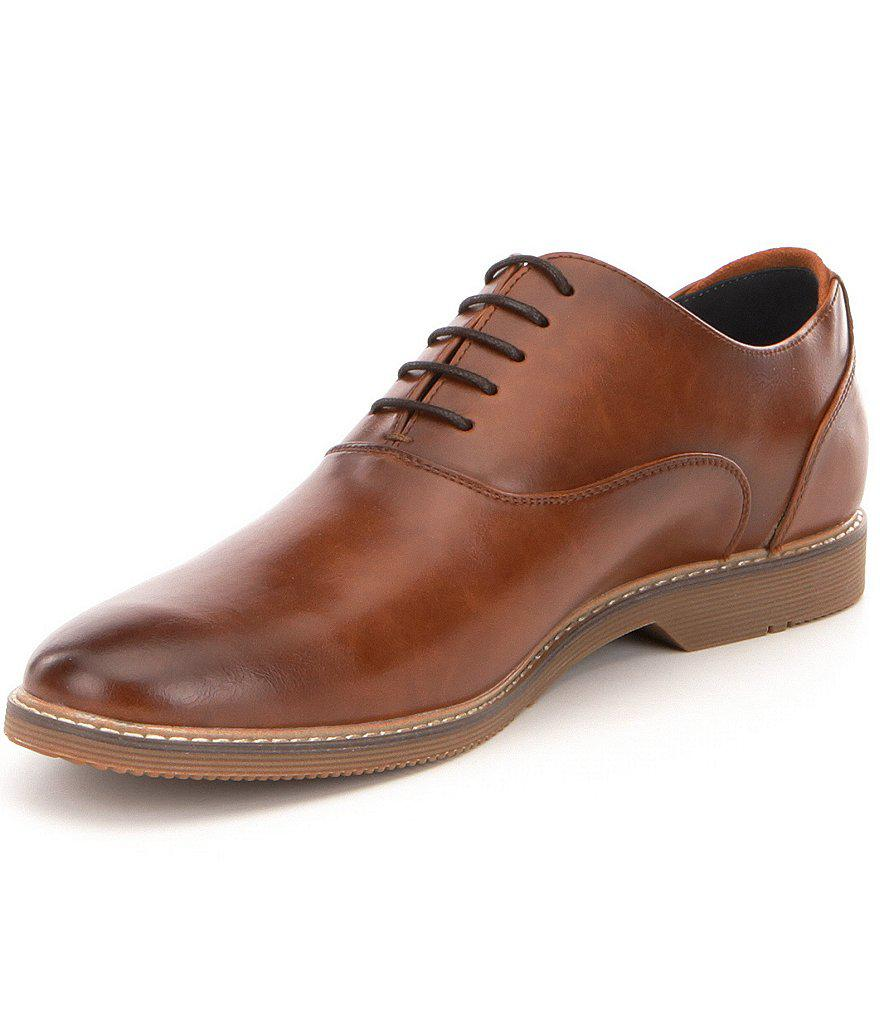 c438c864b6a Lyst - Steve Madden Men ́s Nunan Plain Toe Oxford in Brown for Men