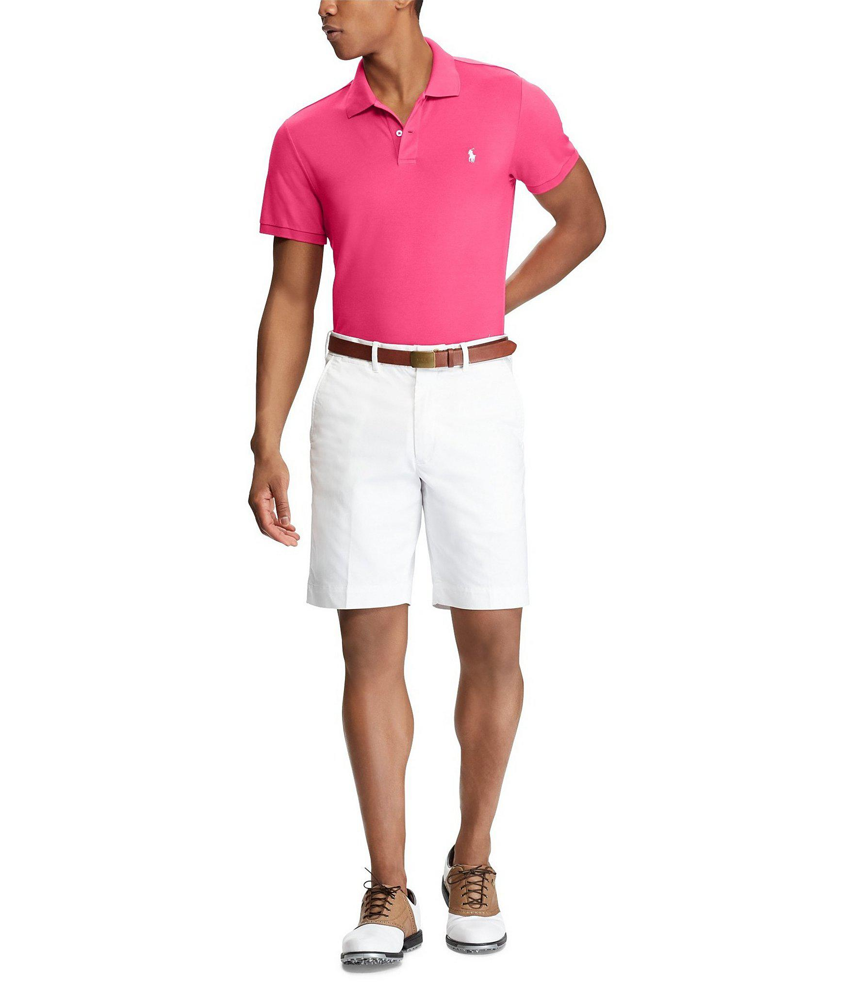 26fc05a13 Polo Ralph Lauren Polo Golf Custom Slim-fit Pique Performance Short ...