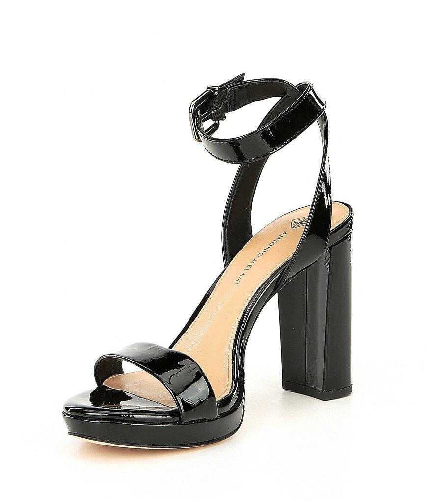 Sarita Patent Leather Platform Dress Sandals BetRiR6Z