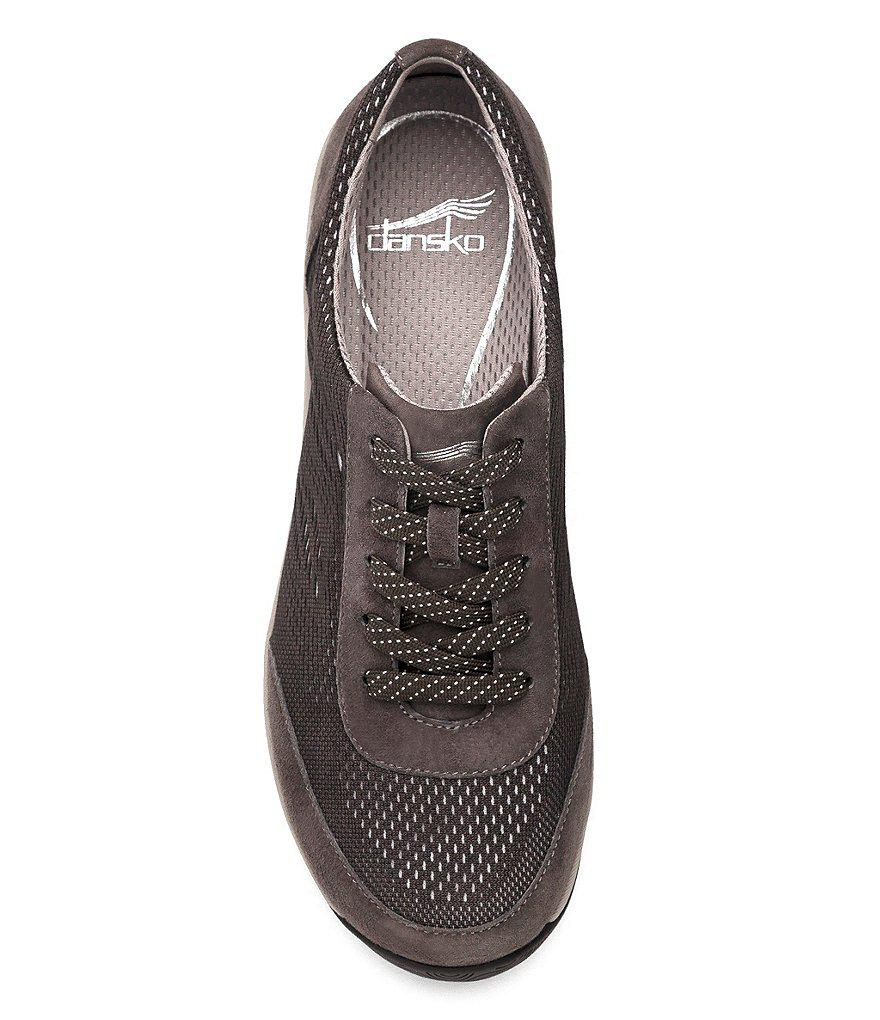 Hayes Stretch and Suede Sneakers kf6PuoEbdc
