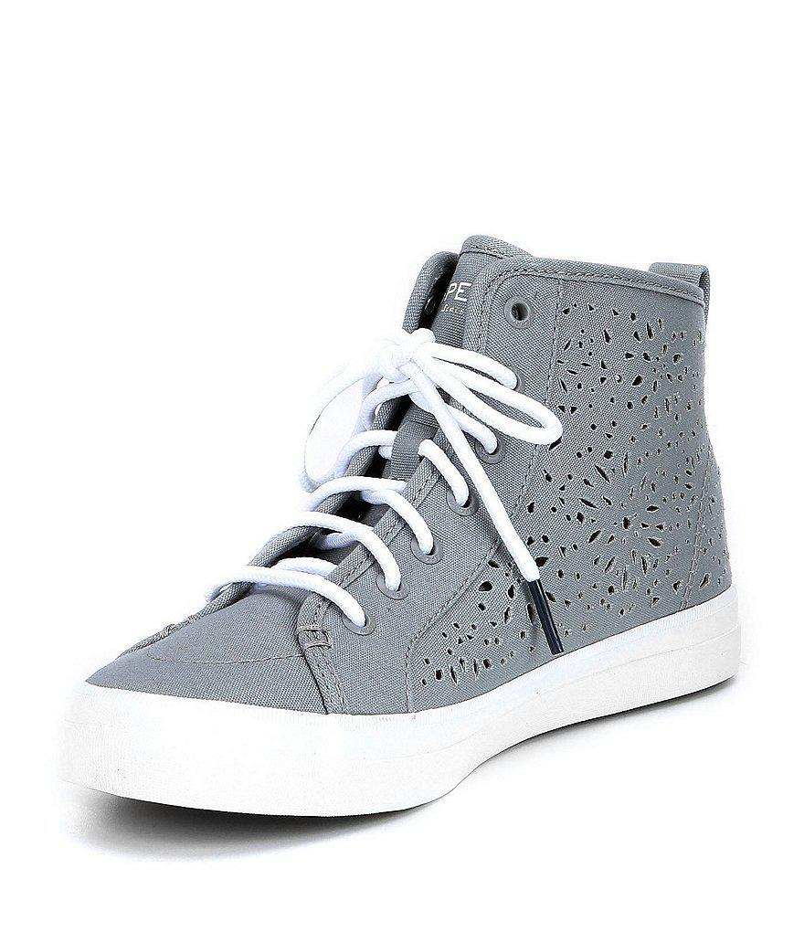 Sperry Crest Ripple Perforated Sneakers nUsyKgs