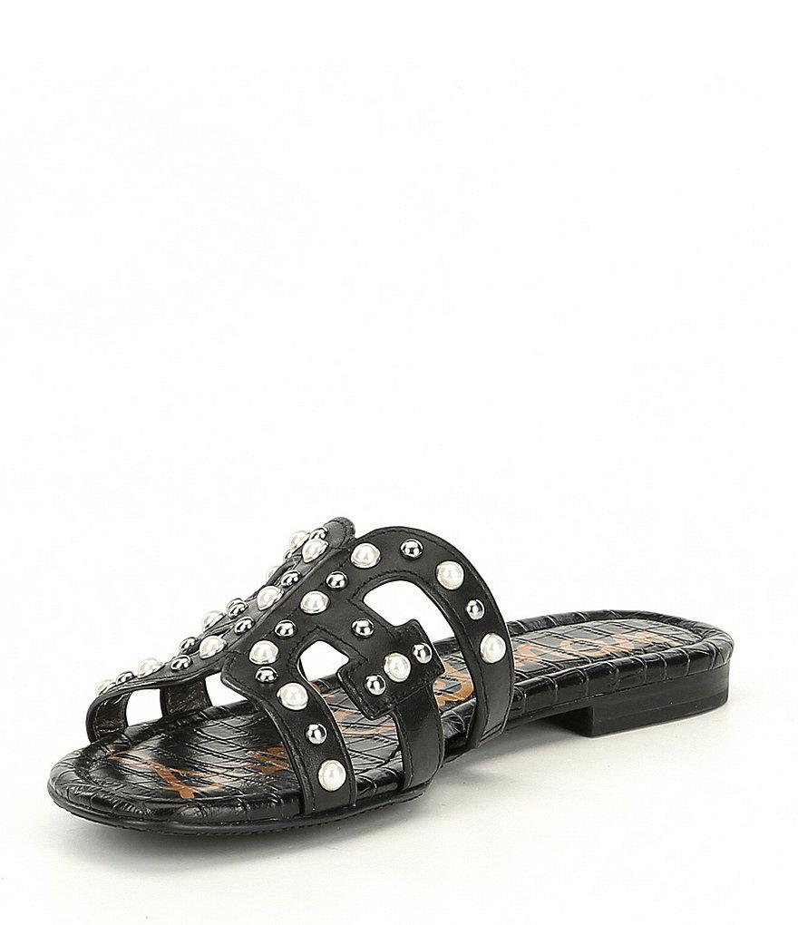 Bay 2 Rhinestone Pearl Stud Embellished Sandals R20sin