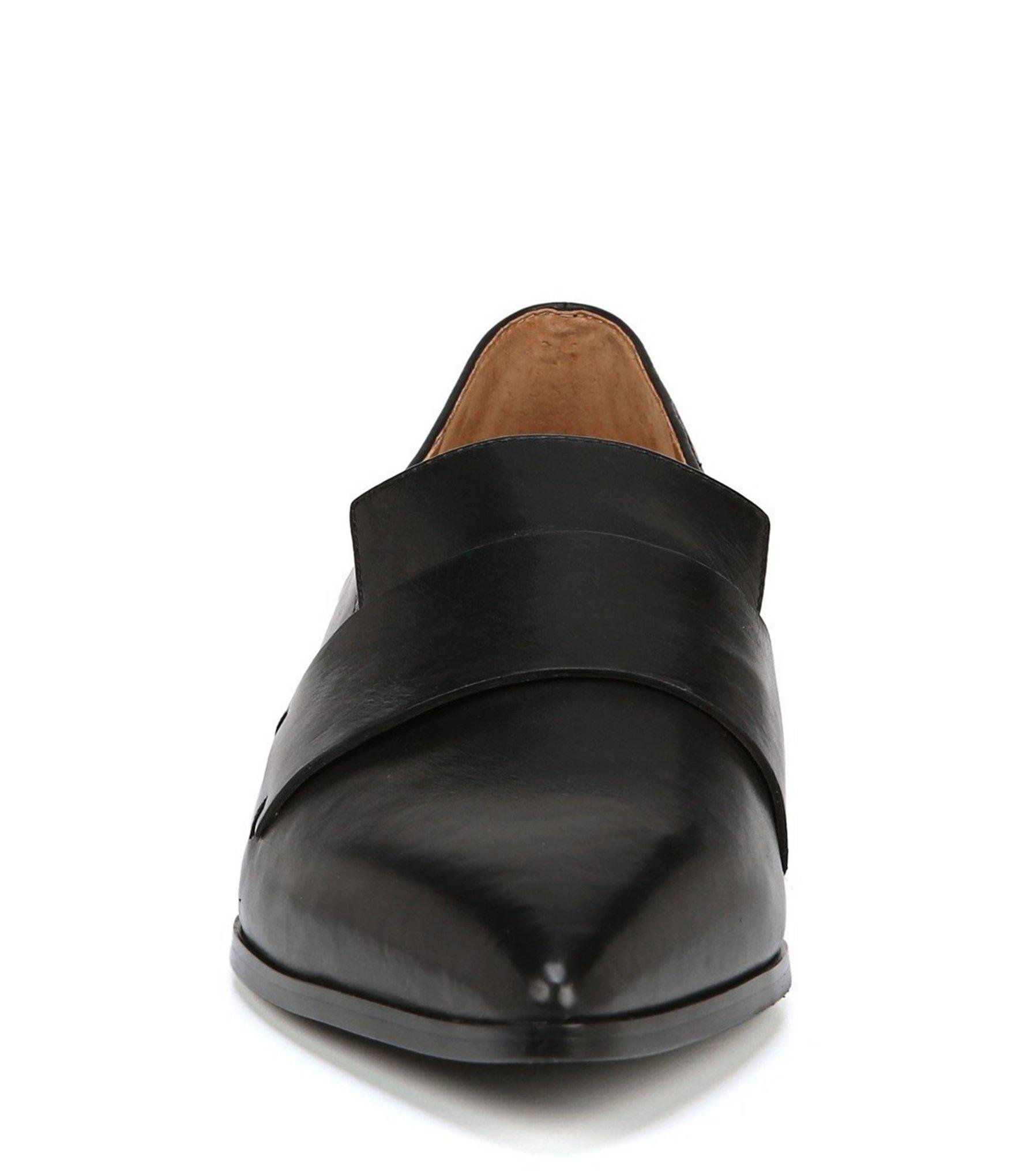 cc0cec93c47 Lyst franco sarto nebby loafers in black jpg 1760x2040 Franco sarto black  loafers