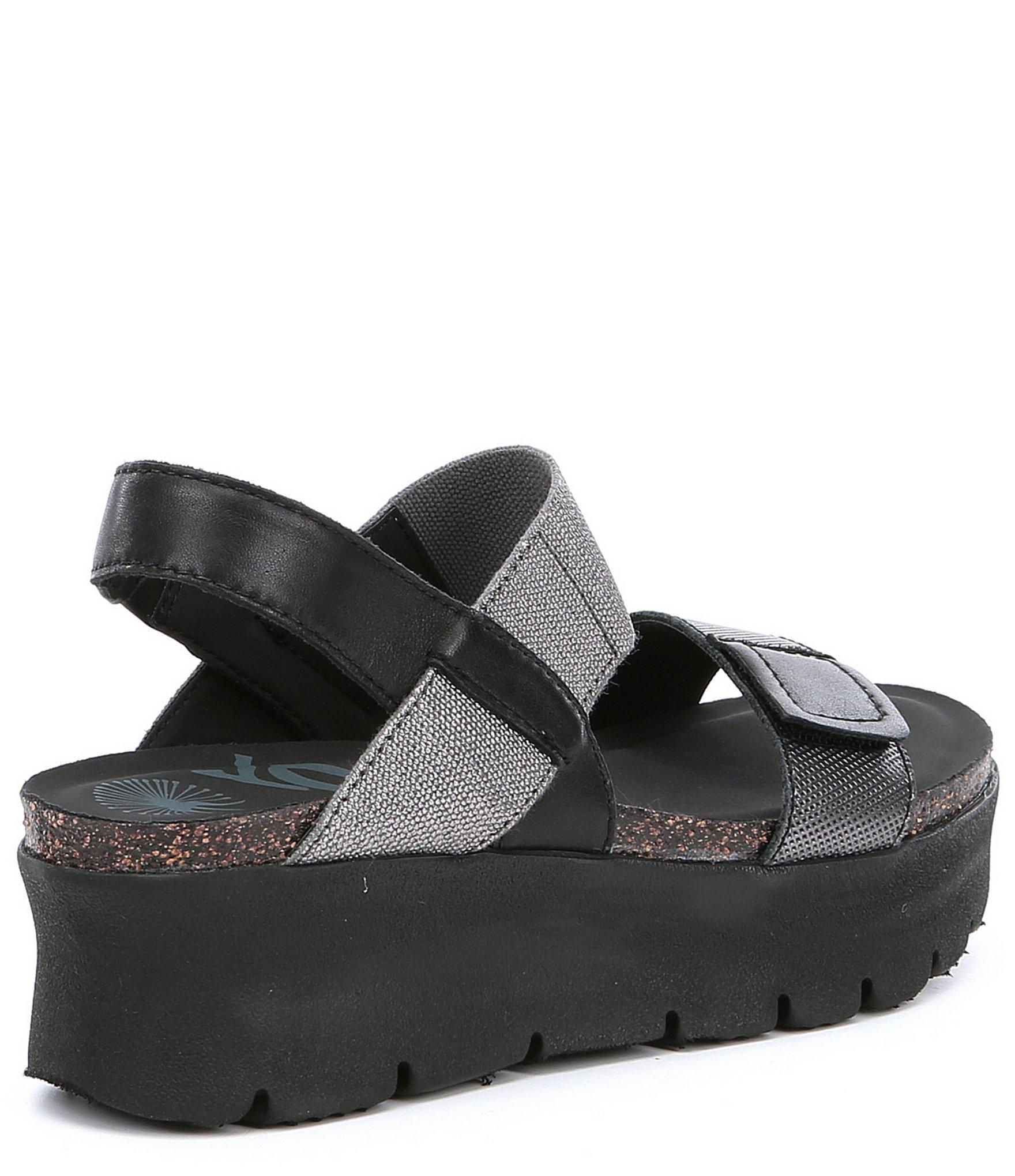 328c1fded7 Otbt - Black Nova Women's Platform Sandals - Lyst. View fullscreen