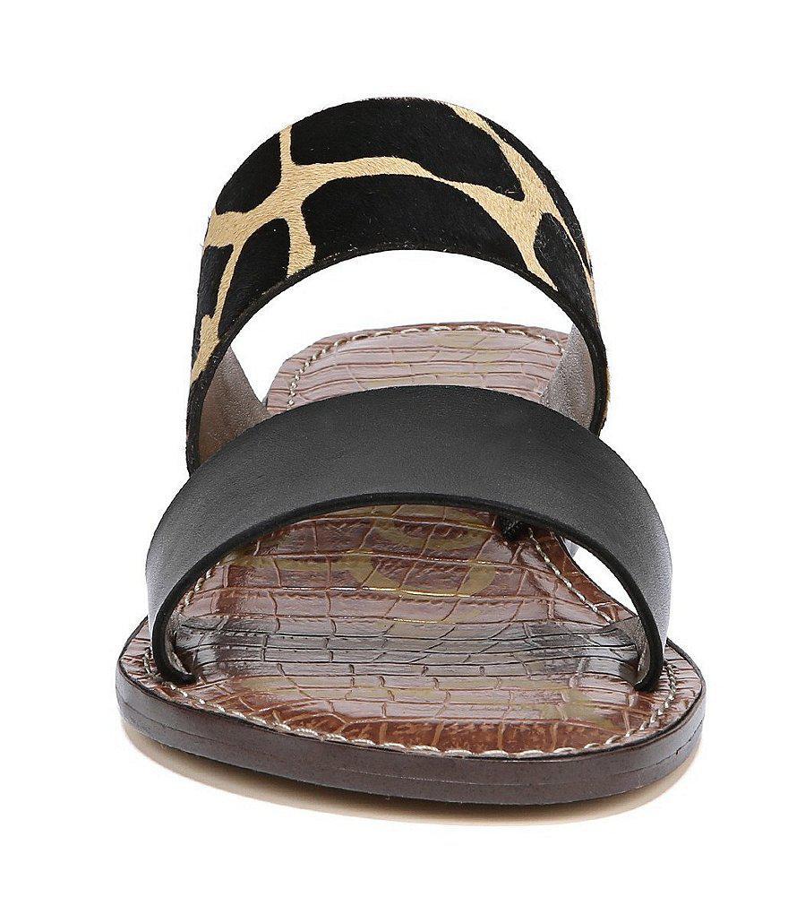 Jeni Animal Print Banded Block Heel Sandals xCjQsV7cP