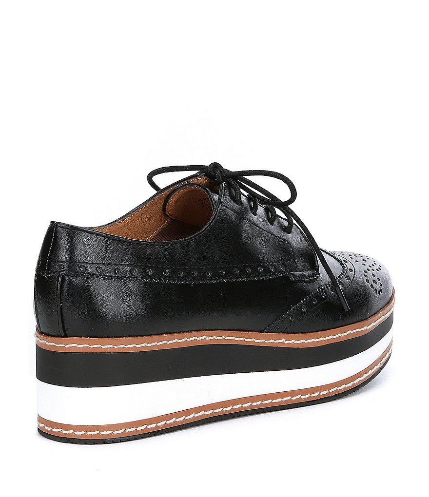 f6219898ce4 Lyst - Steve Madden Greco Leather Oxfords in Metallic