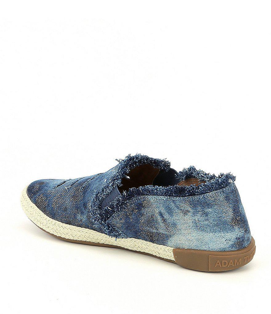 Marin 12 Frayed Denim Slip On Shoes i2peFzEx5