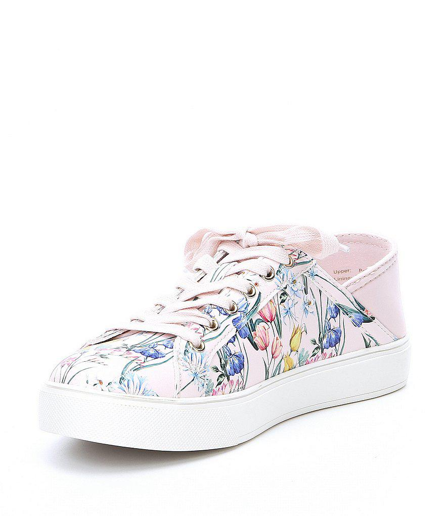 ALDO Stepanie Floral Print Sneakers 4btIW21