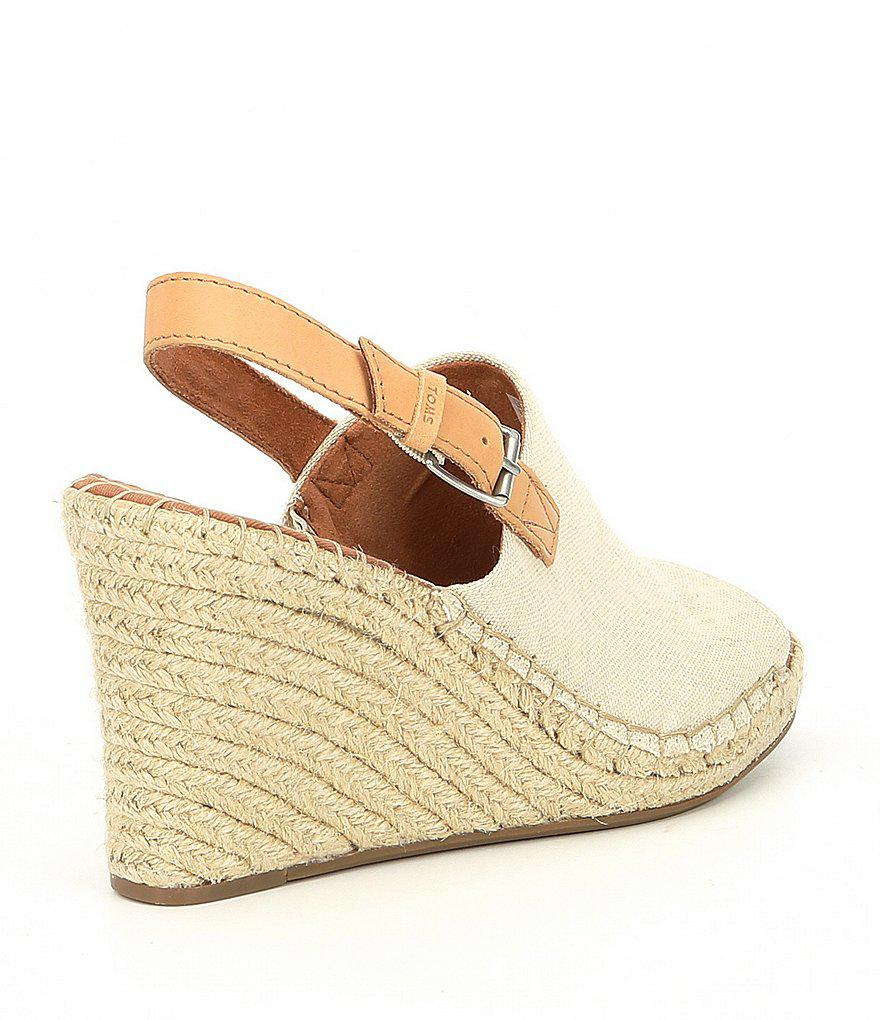 TOMS Monica Hemp Wedge Espadrille Sandals yzxyf5