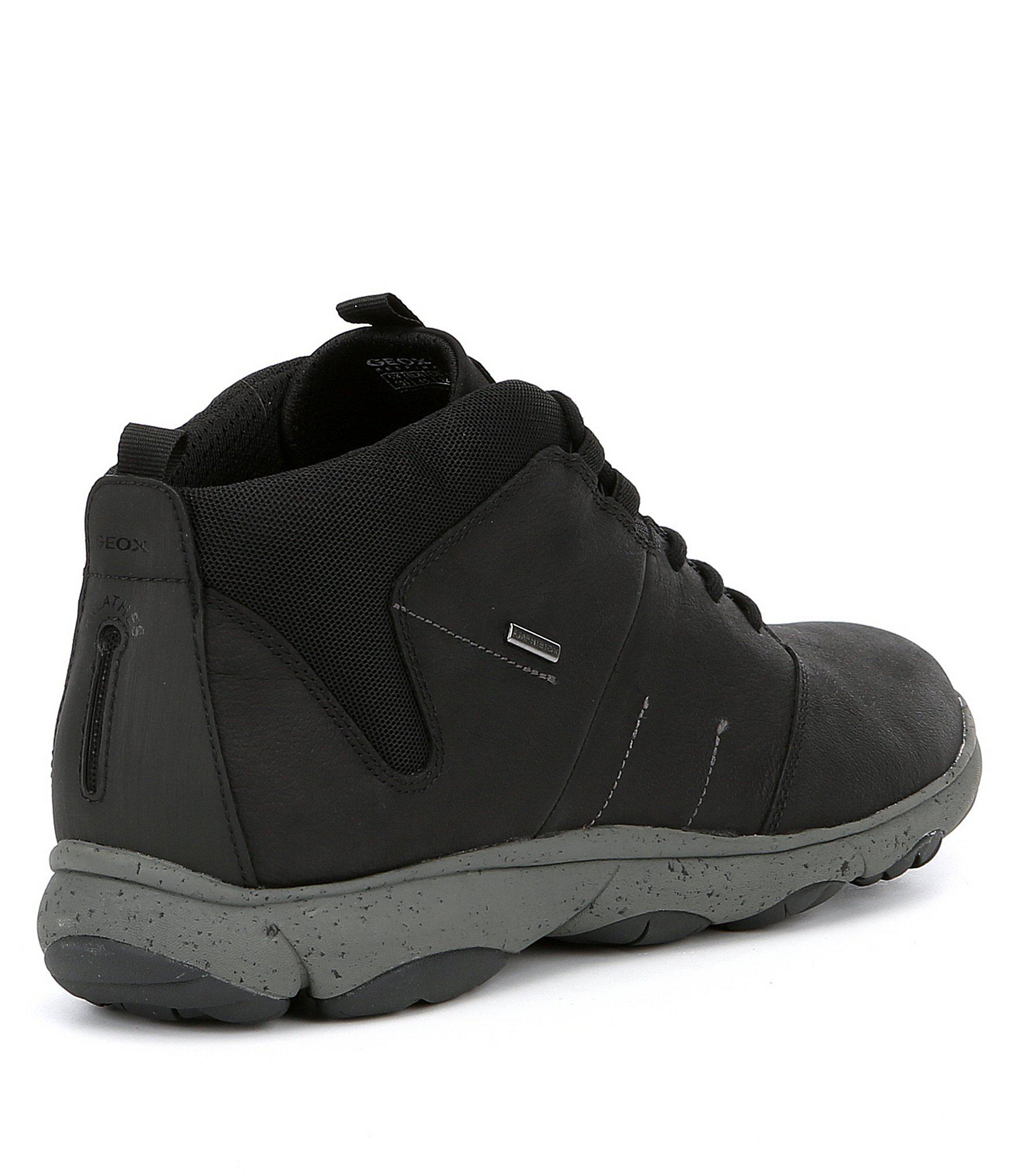 2bbc3486ded Lyst - Geox Men S Nebula Sneaker Boots in Black for Men