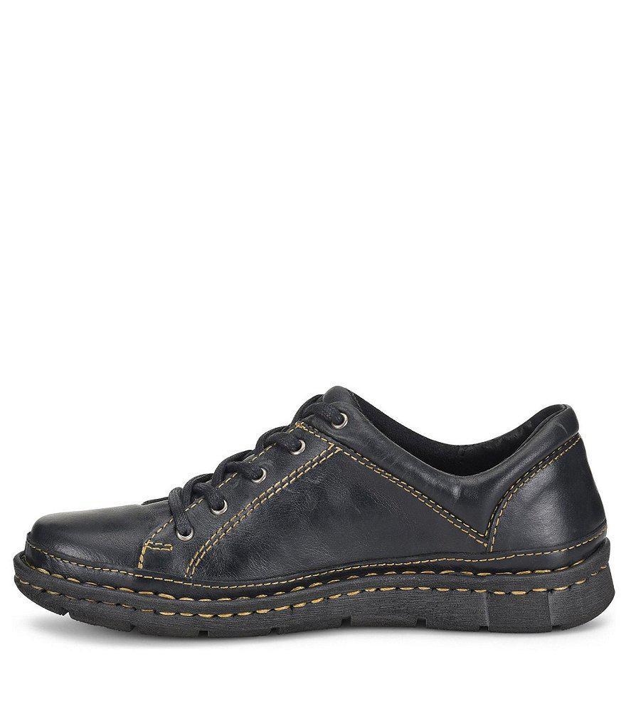 Born Monona Leather Sneakers qWKD36SMv4