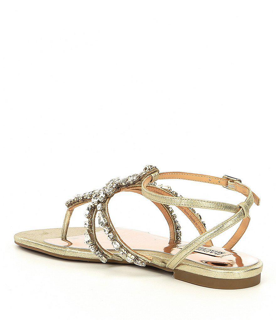 Hampden Metallic Suede Ankle Strap Sandals vDyU8Tl