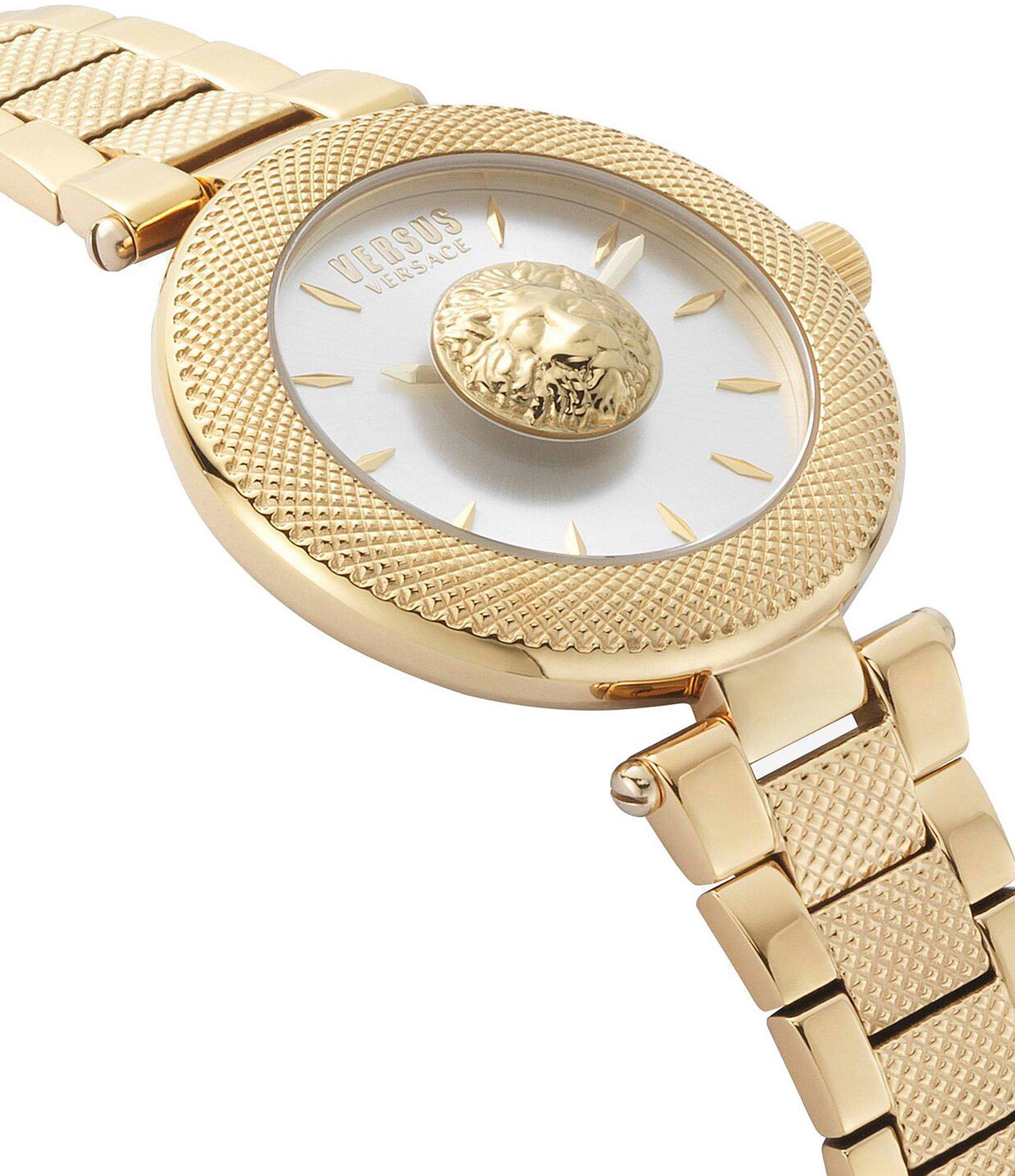 9f764d02b7e Versus Versus Versace Brick Lane Bracelet Watch in Metallic - Lyst