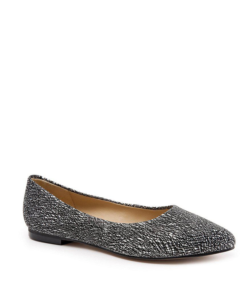 Estee Metallic Leather Slip On Flats C9w0wuOzk