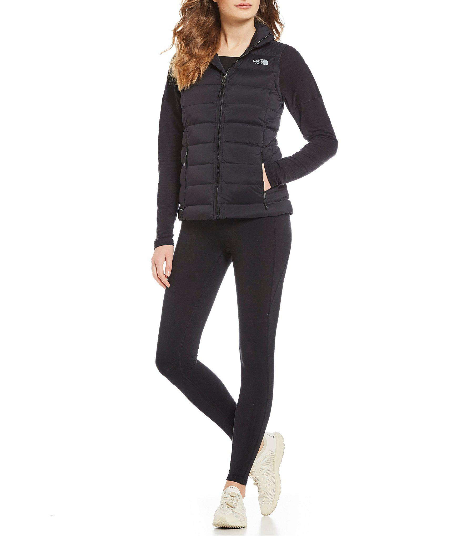 Lyst - The North Face Mountain Sports Stretch Down Zip Front Puffer ... 61b03f4a9
