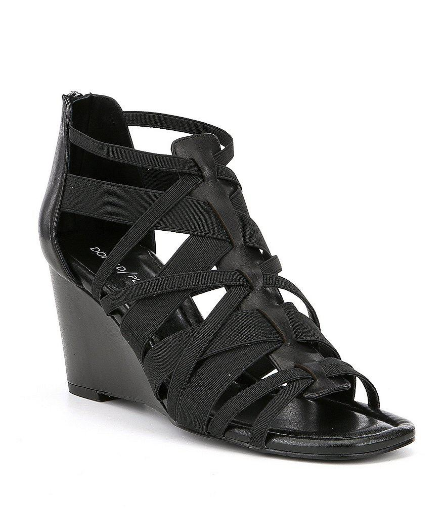 Donald Pliner Lia Stretch Wedge Dress Sandals uy9w0