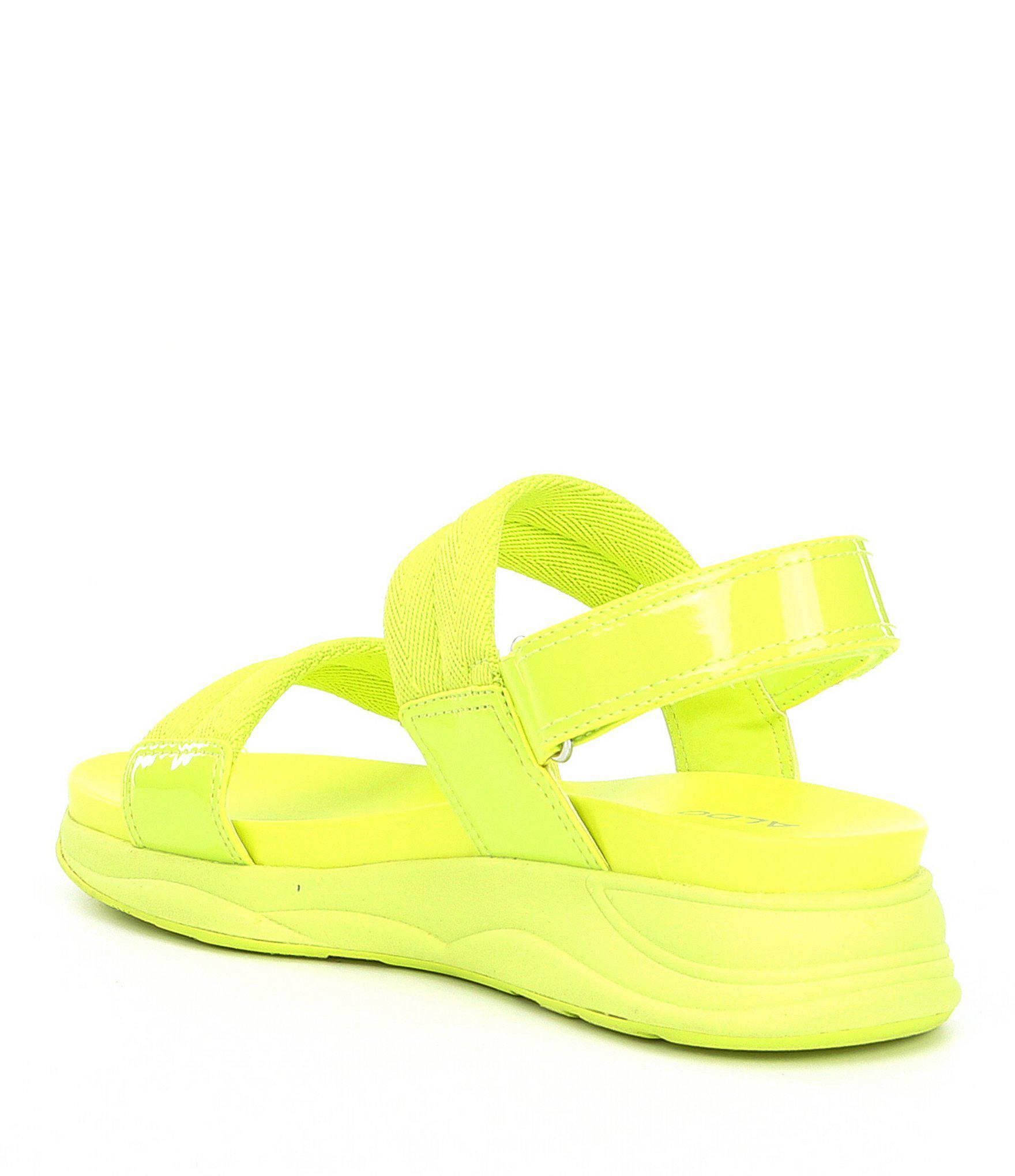 edf2a3ef93a2 Lyst - ALDO Eloima Wedge Sandals in Yellow
