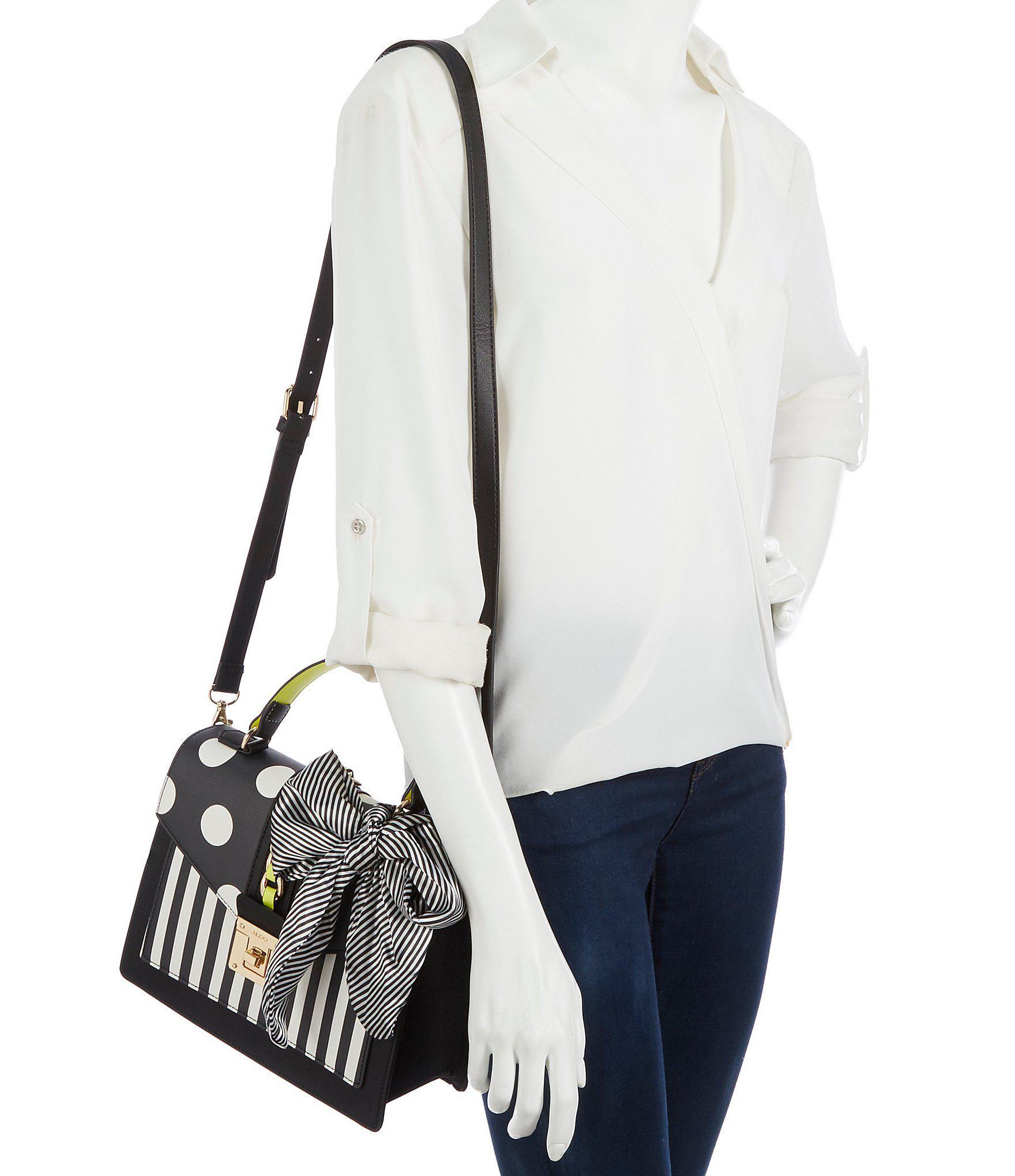 ab296df6ed Lyst - ALDO Glendaa Small Top Handle Colorblock Handbag