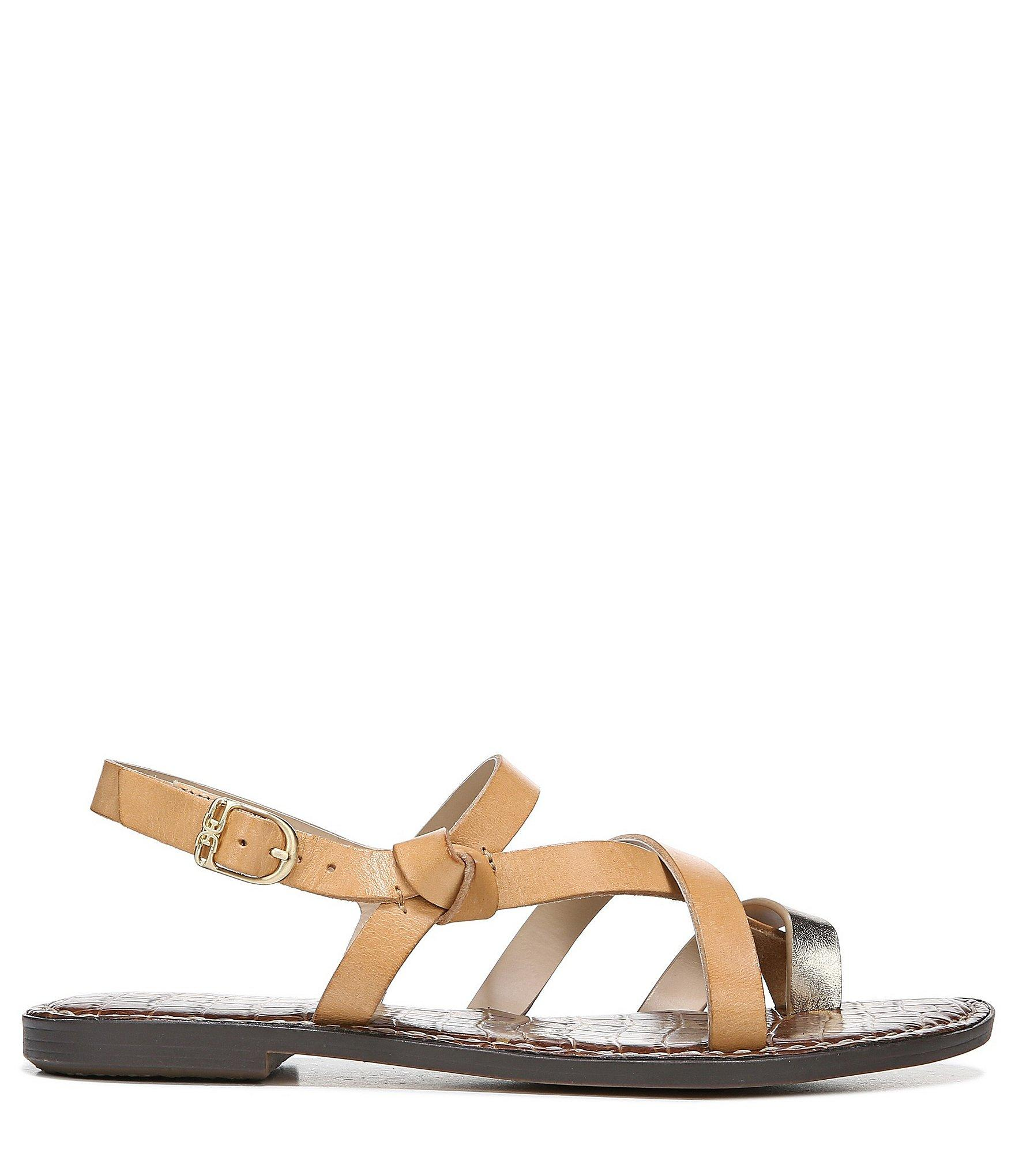 ded2f0aec5d9a Gladys Metallic Leather Sandals Clothes t Leather