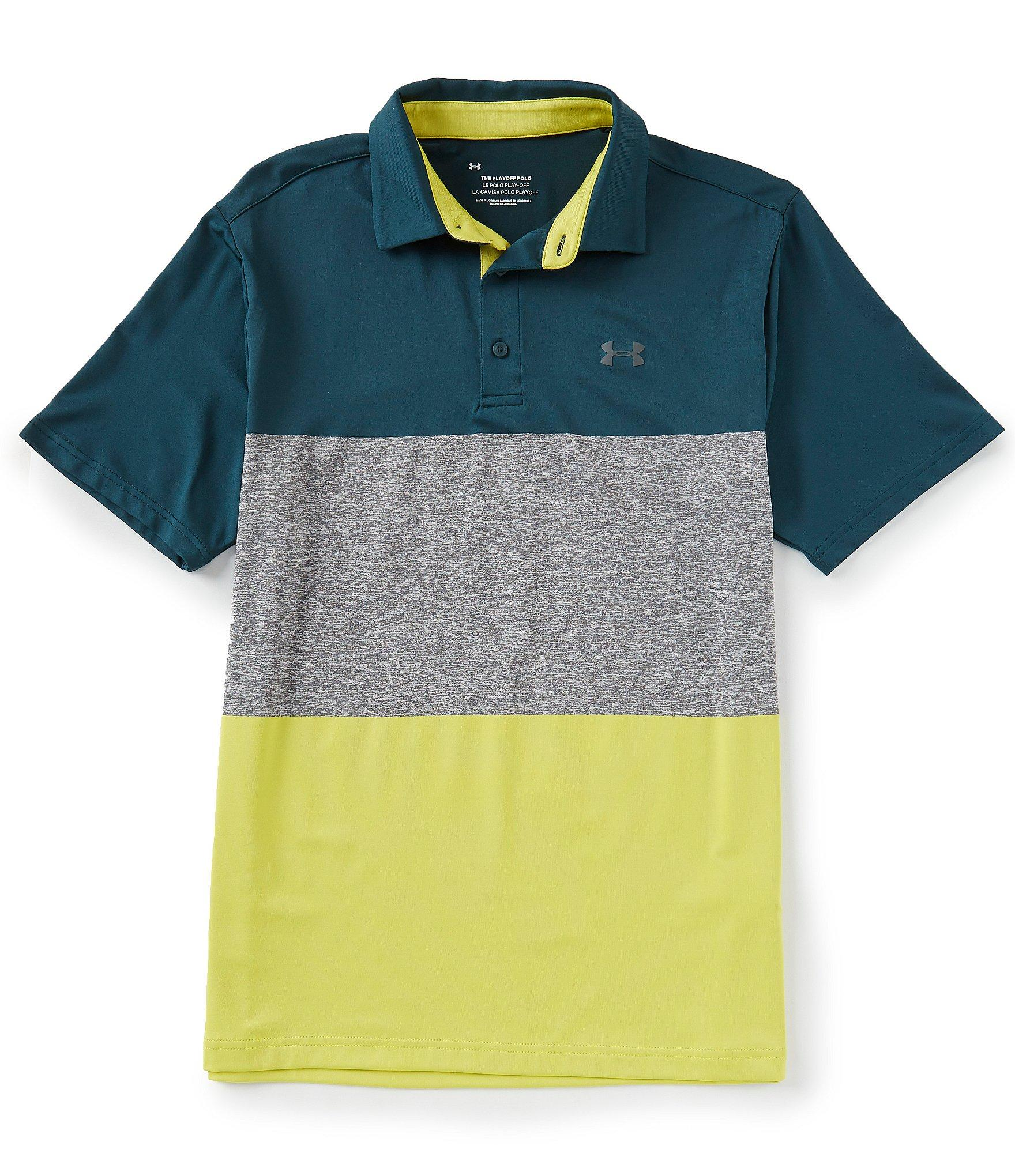 e2dedb6ecc90ae Lyst - Under Armour Golf Short-sleeve Playoff Polo 2.0 in Gray for Men