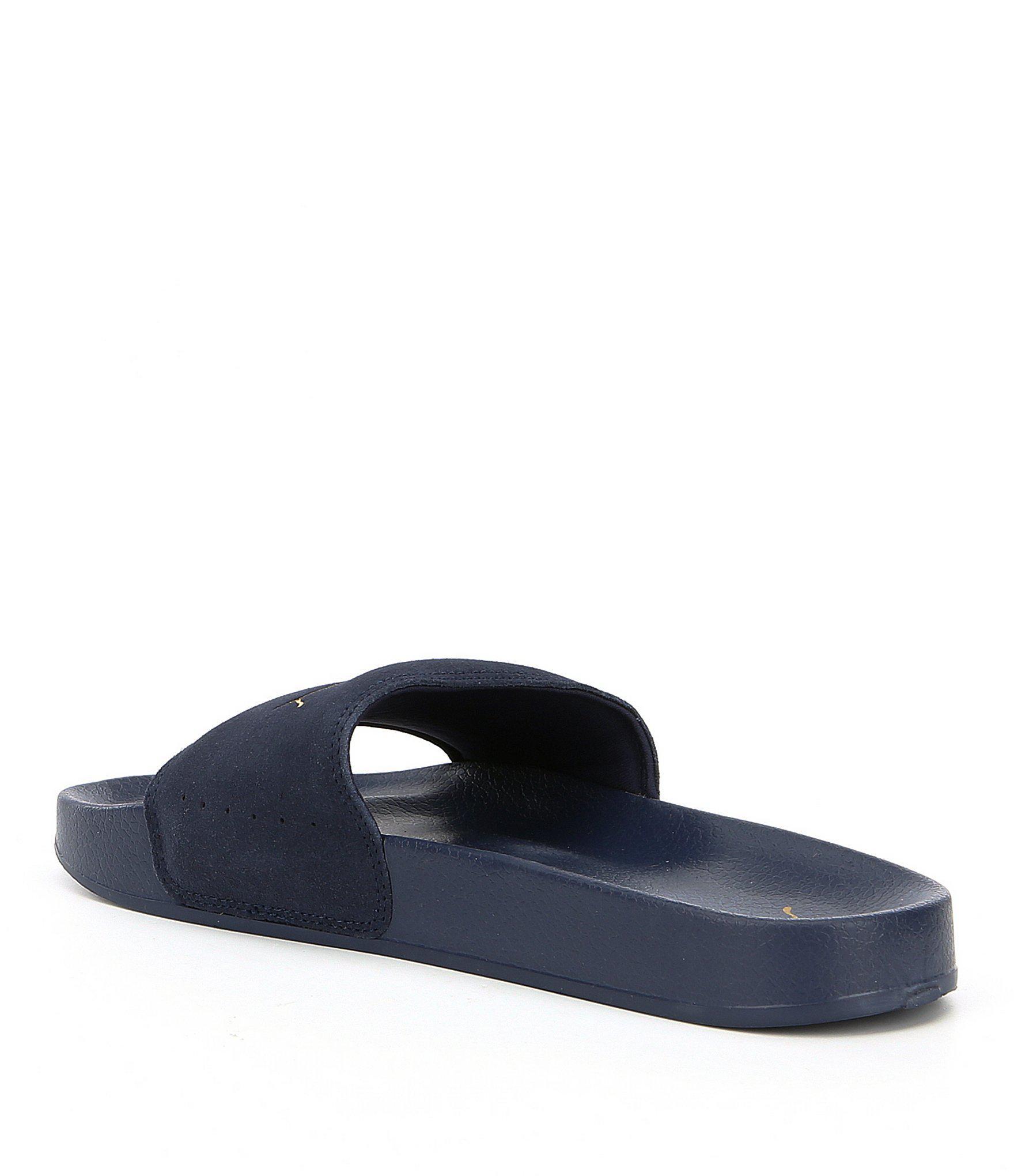 d298a36069e2 Lyst - PUMA Men s Leadcat Suede Slide-on Sandals in Blue for Men