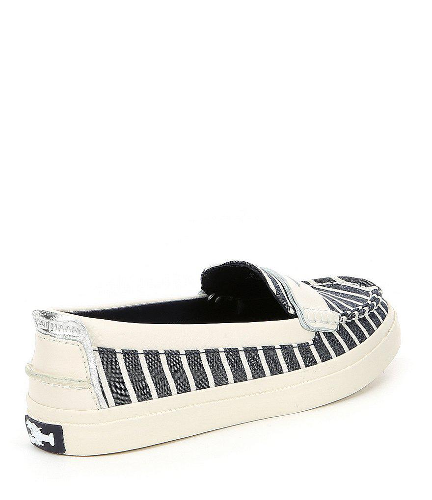 Pinch Weekender XL Nautical Stripe Penny Loafers CyVpPGJ8V