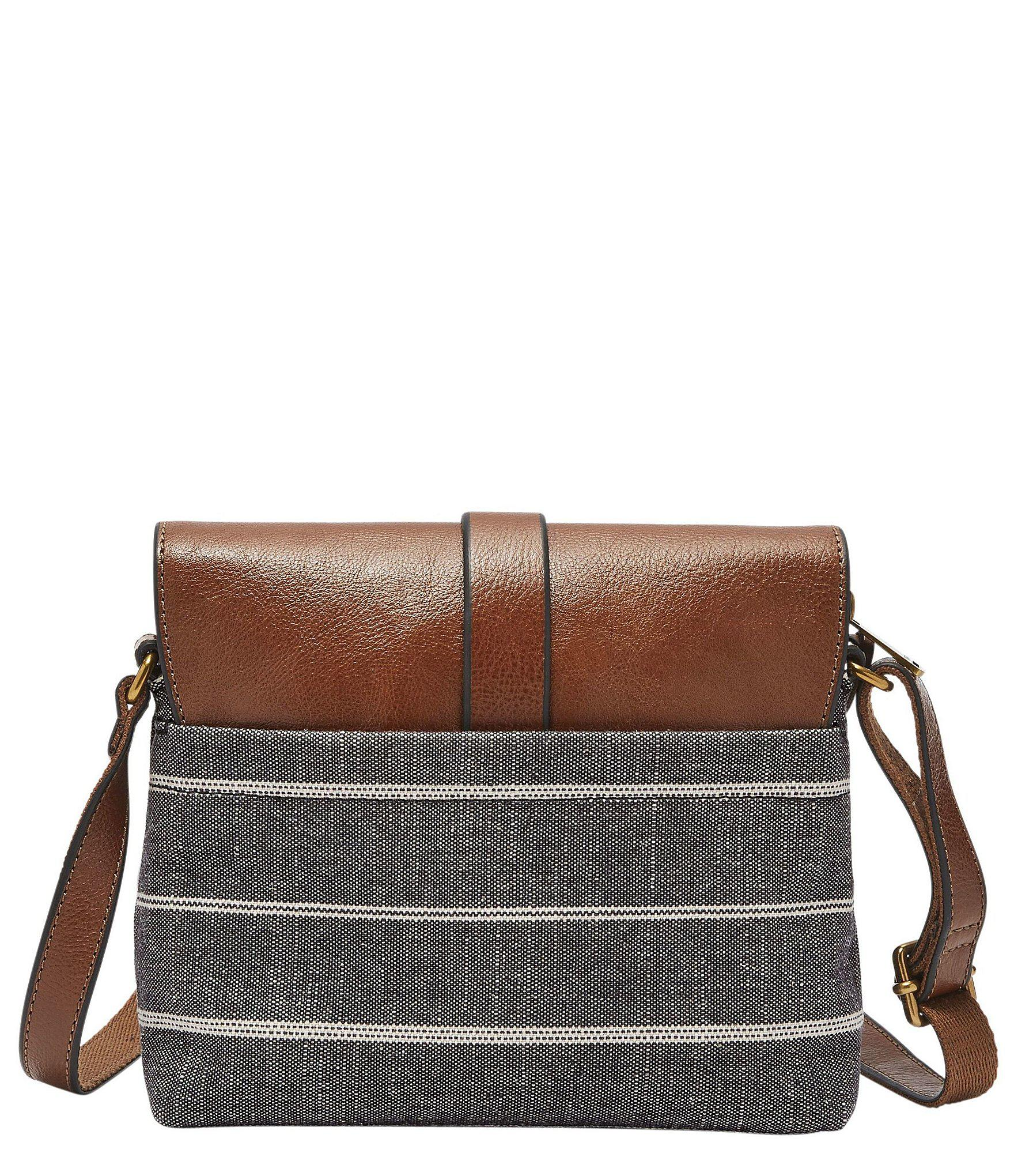 3ced9b242 Fossil - Multicolor Kinley Striped Small Cross-body Bag - Lyst. View  fullscreen