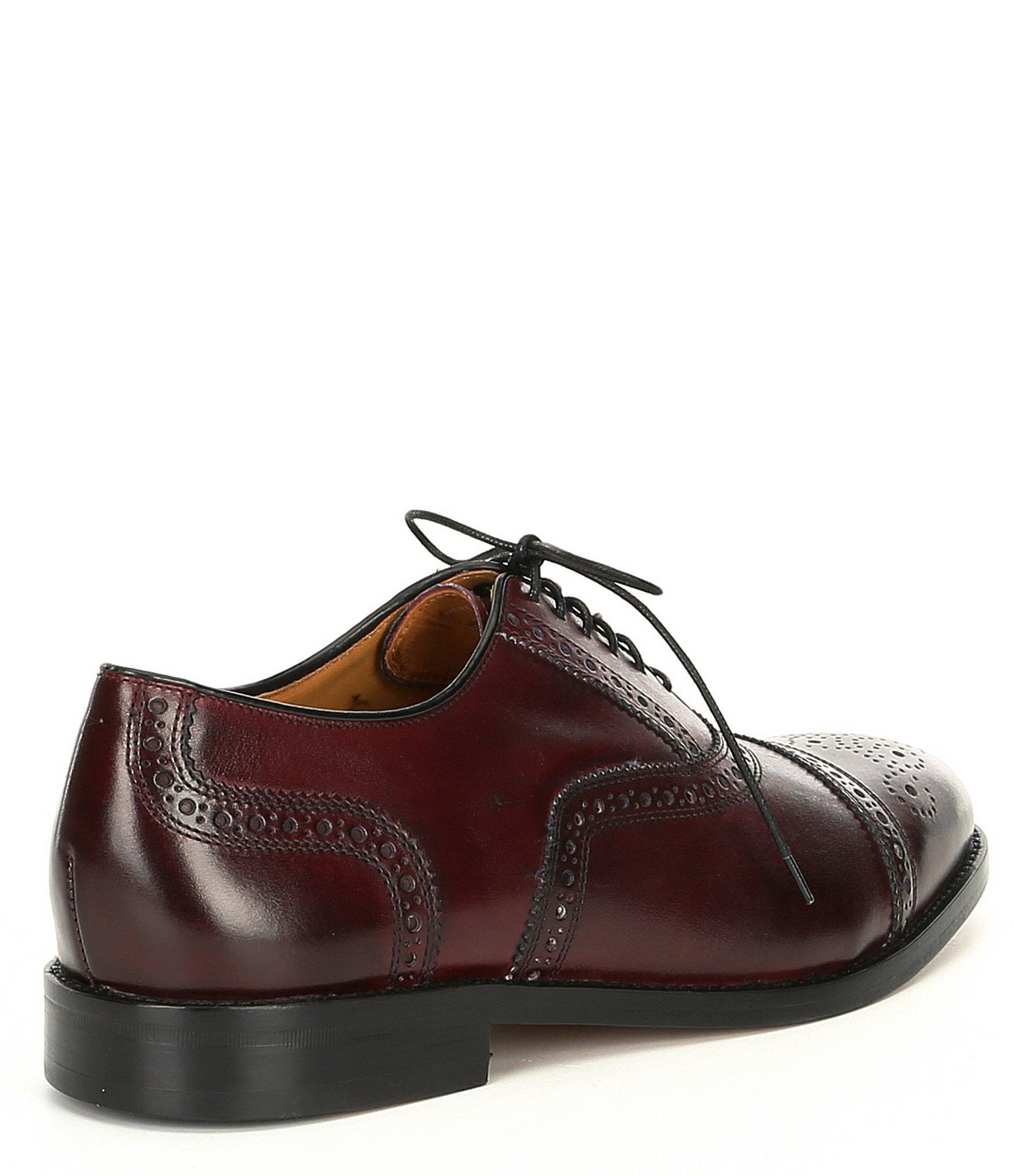 e06dfec00 Cole Haan - Brown American Classics Kneeland Brogue Cap Toe Oxford for Men  - Lyst. View fullscreen