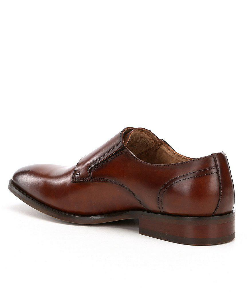 bdfe224681a Lyst - Steve Madden Men s Elvin Double Monk Straps in Brown for Men