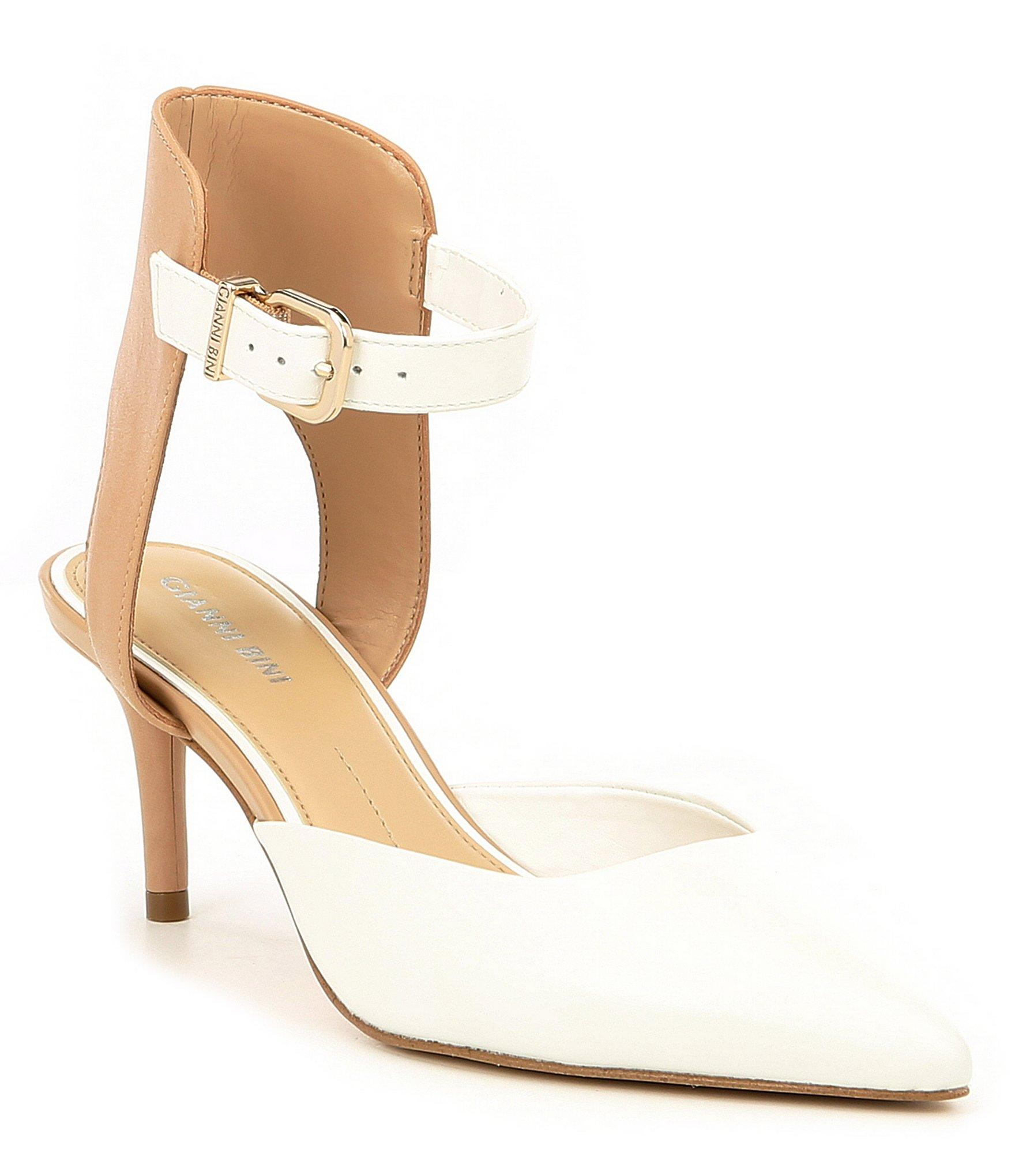 3379bed1238 Gianni Bini - Multicolor Myrabelle Colorblock Leather Two-piece Pumps - Lyst