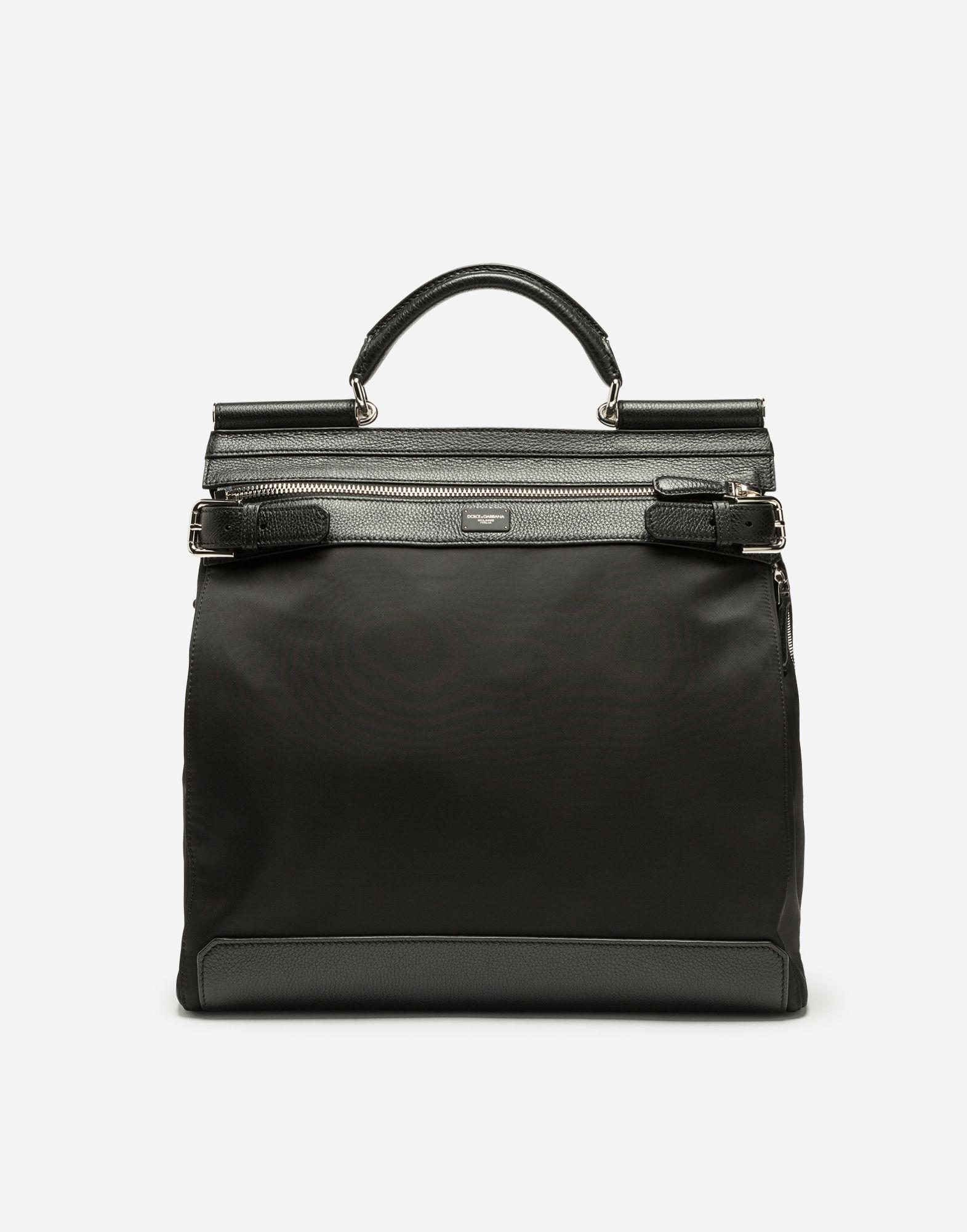 4f3b2e135ece Lyst - Dolce   Gabbana Sicily Backpack In Nylon in Black for Men