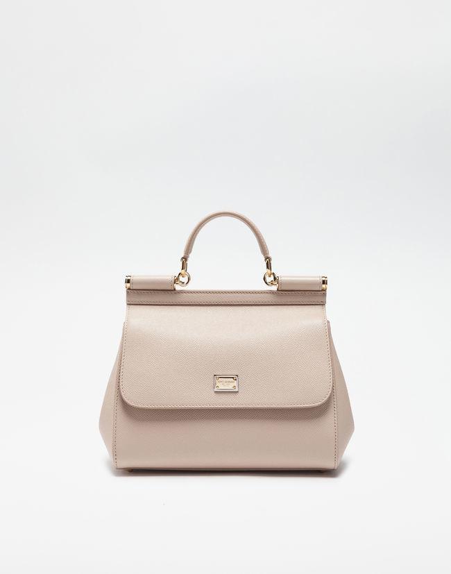 ecce9f79aa Lyst - Dolce   Gabbana Medium Sicily Handbag In Dauphine Leatherâ in ...