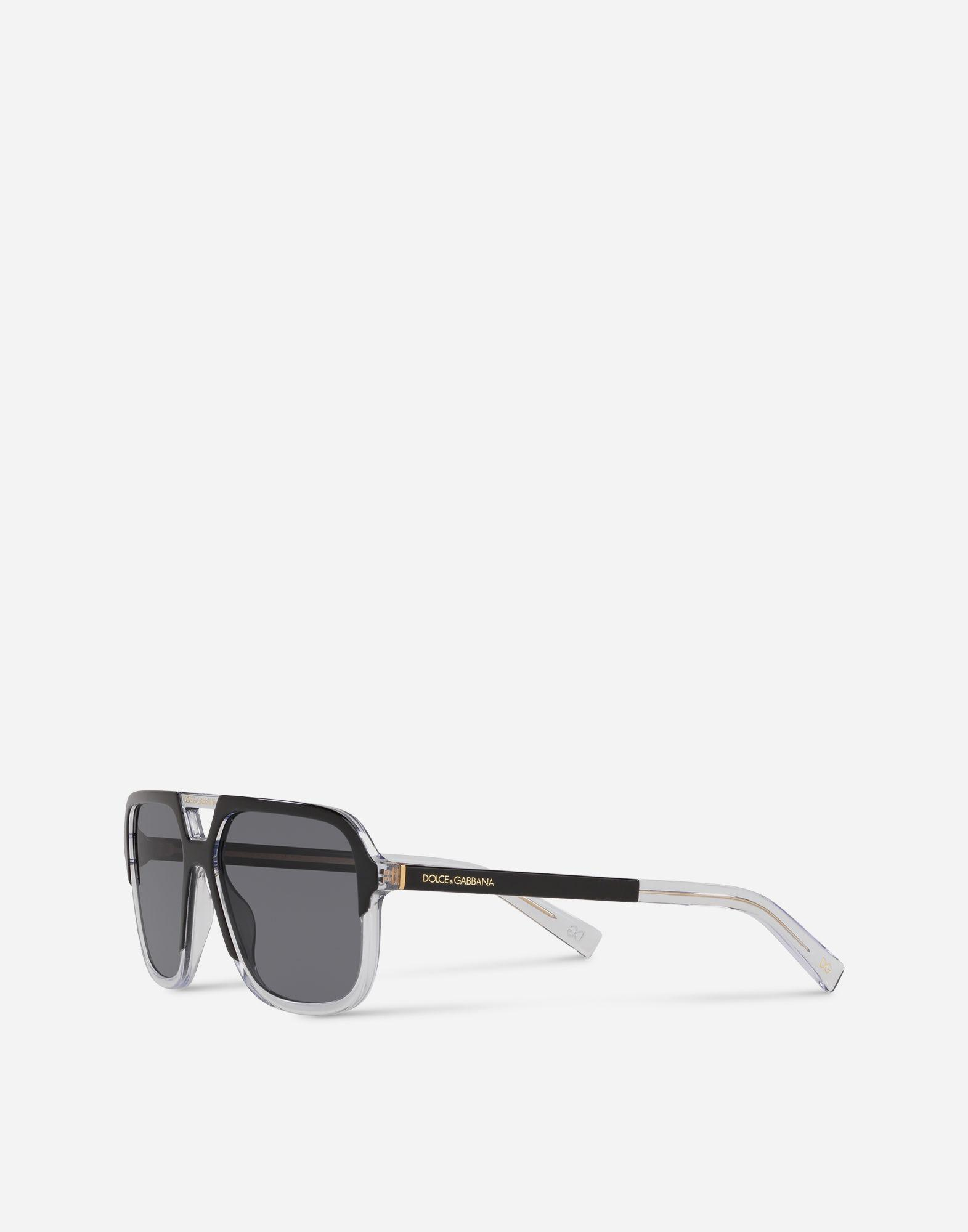 7368ee01d48 Lyst - Dolce   Gabbana Angel Sunglasses in Black for Men