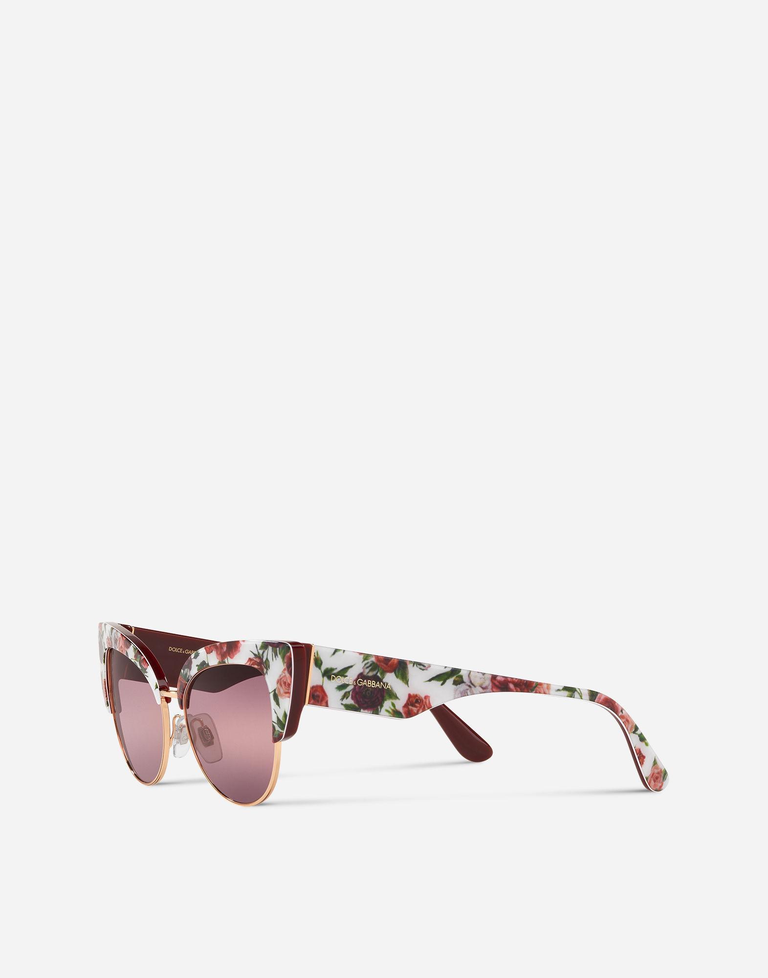 55511593cc99 Lyst - Dolce   Gabbana Print Family Sunglasses